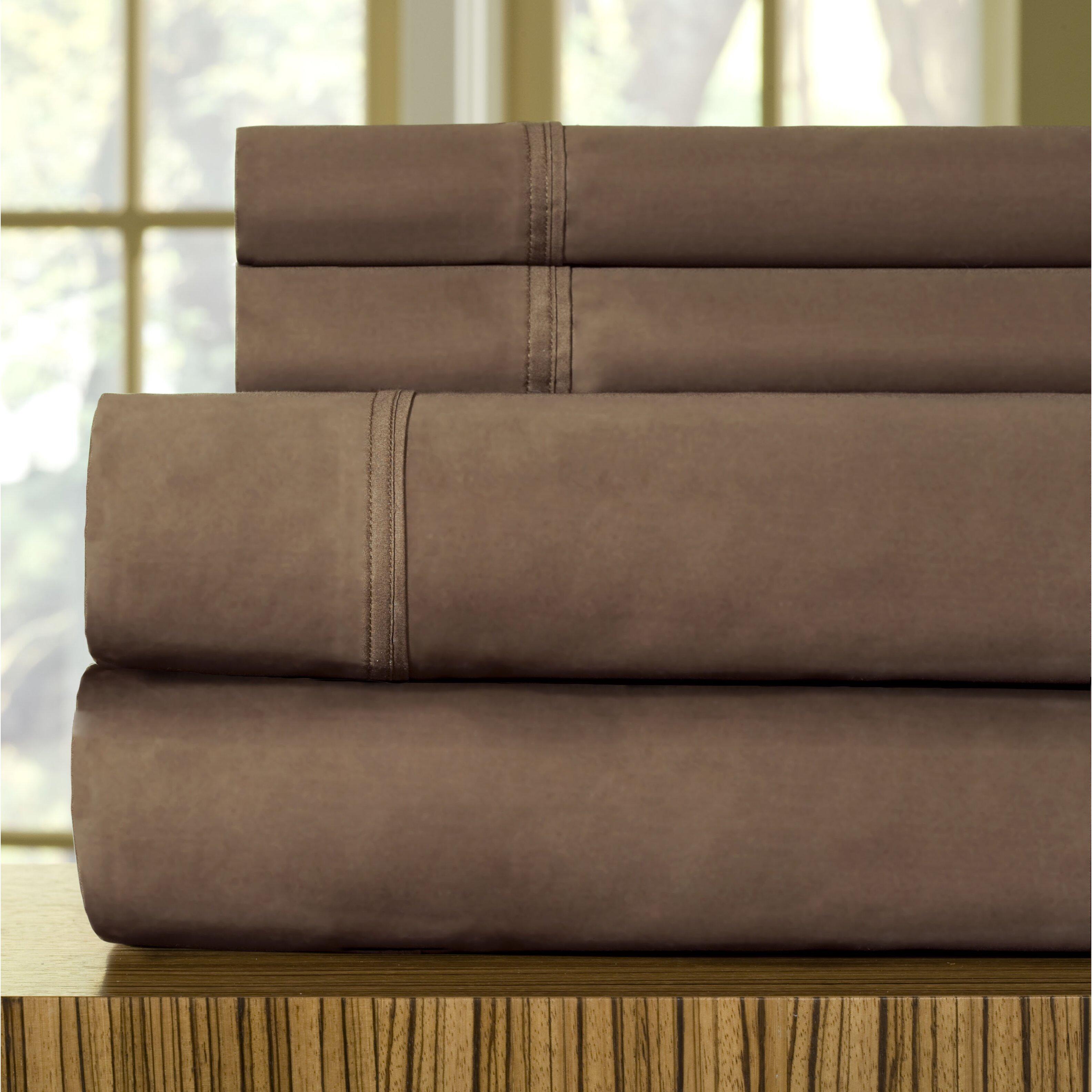 Celeste home 510 thread count egyptian cotton sheet set for What thread count is best for egyptian cotton sheets