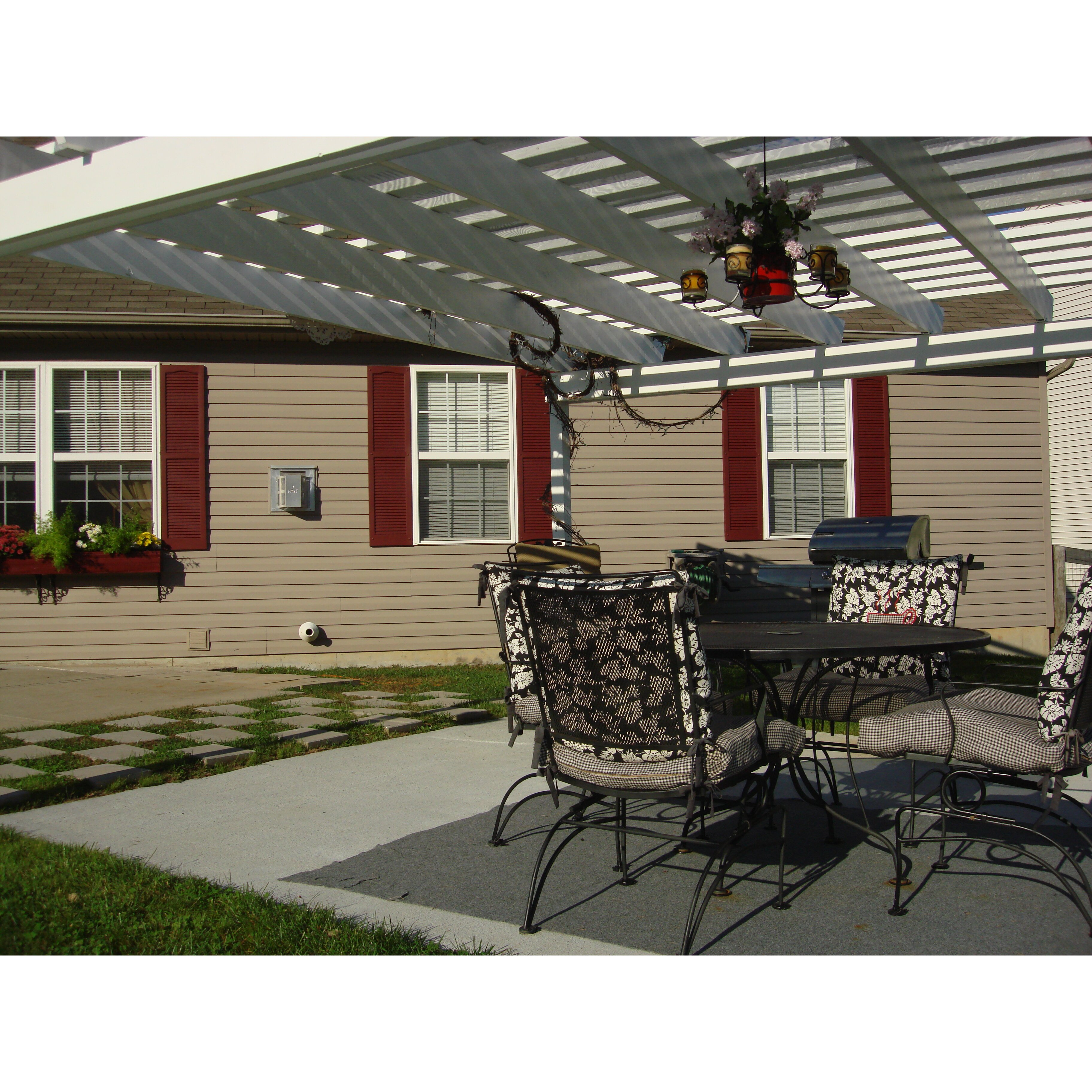 Alpha shutters exterior 14 x 55 louvered shutter - Severe weather exterior shutters lowes ...