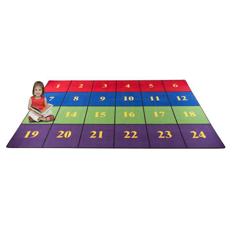 Educational Rugs Cheap: Kid Carpet Classroom Seating Squares Area Rug & Reviews