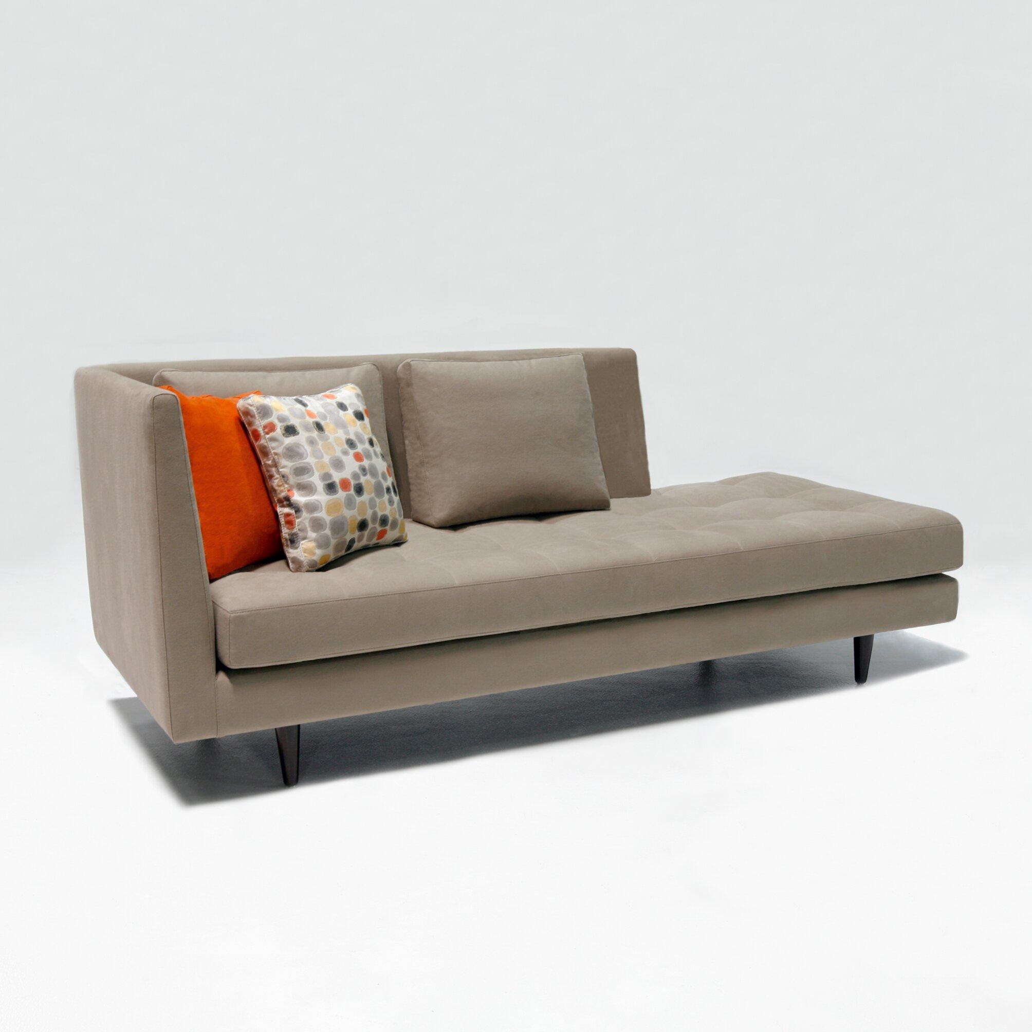 Jordan chaise lounge sofa wayfair for 2 chaise lounges sofa