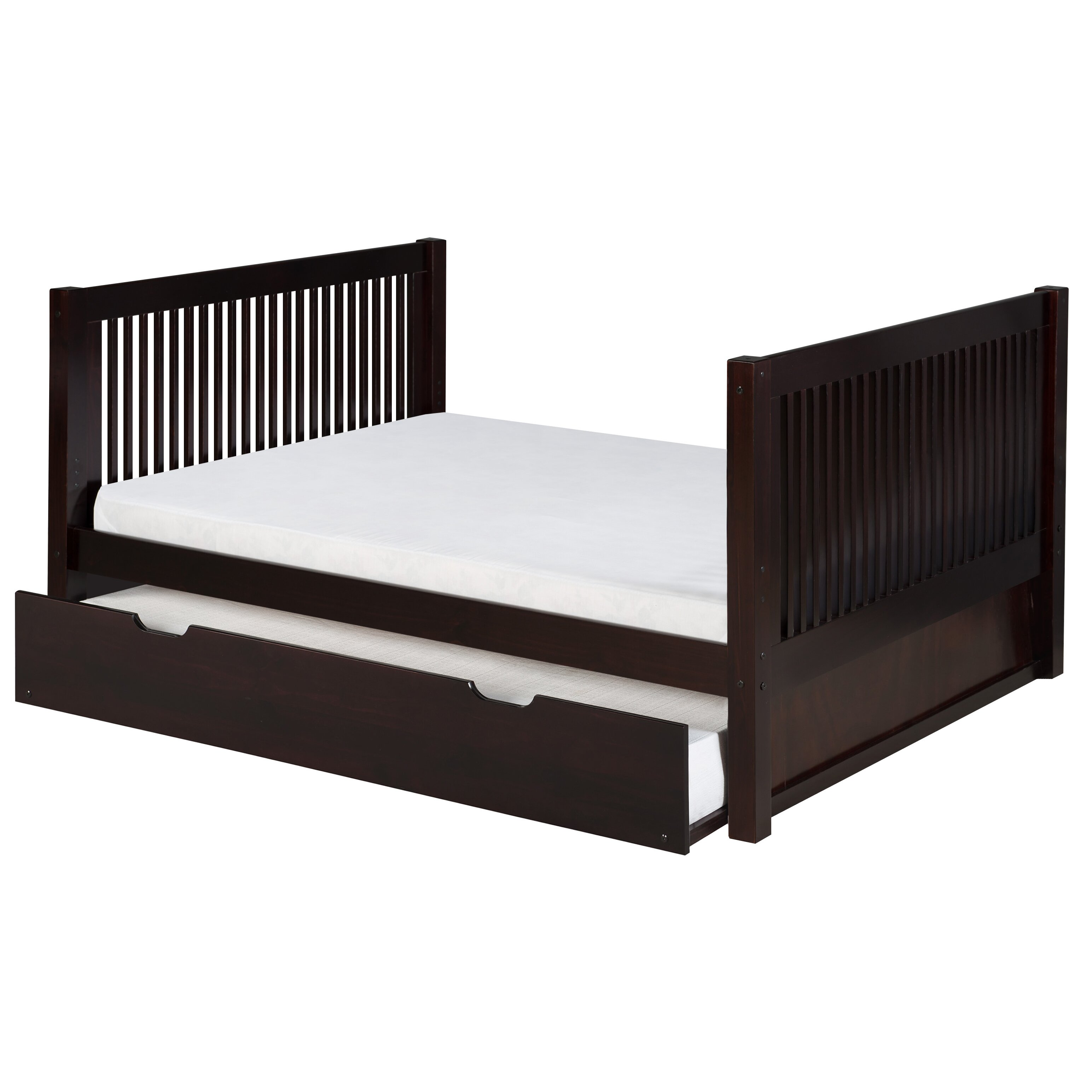 Image Result For Camaflexi Full Size Platform Bed With Twin Trundle