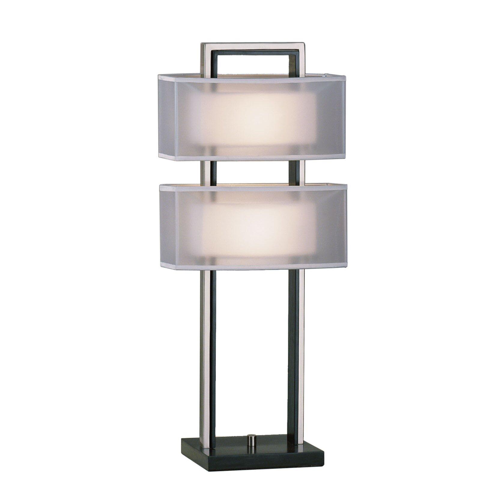 Nova amarillo 28 quot h table lamp with rectangular shade