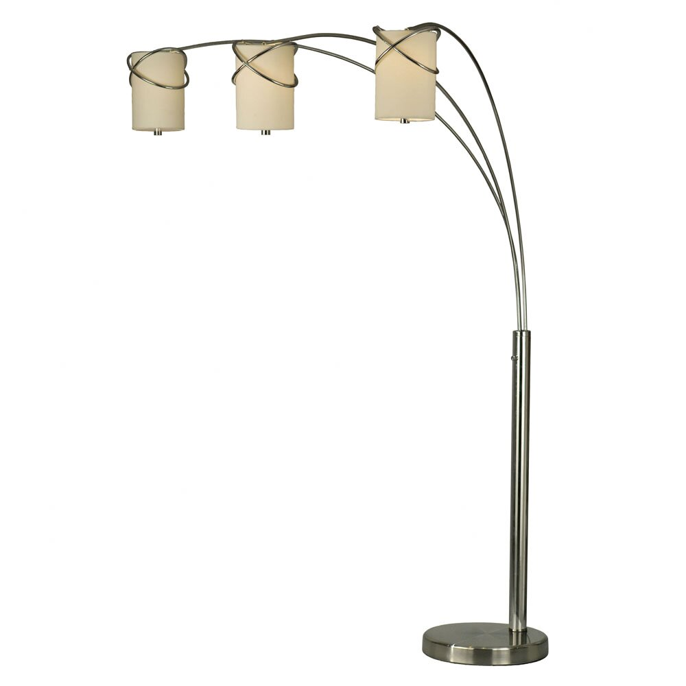 arc floor lamps 84 quot arched floor lamp amp reviews wayfair 10764