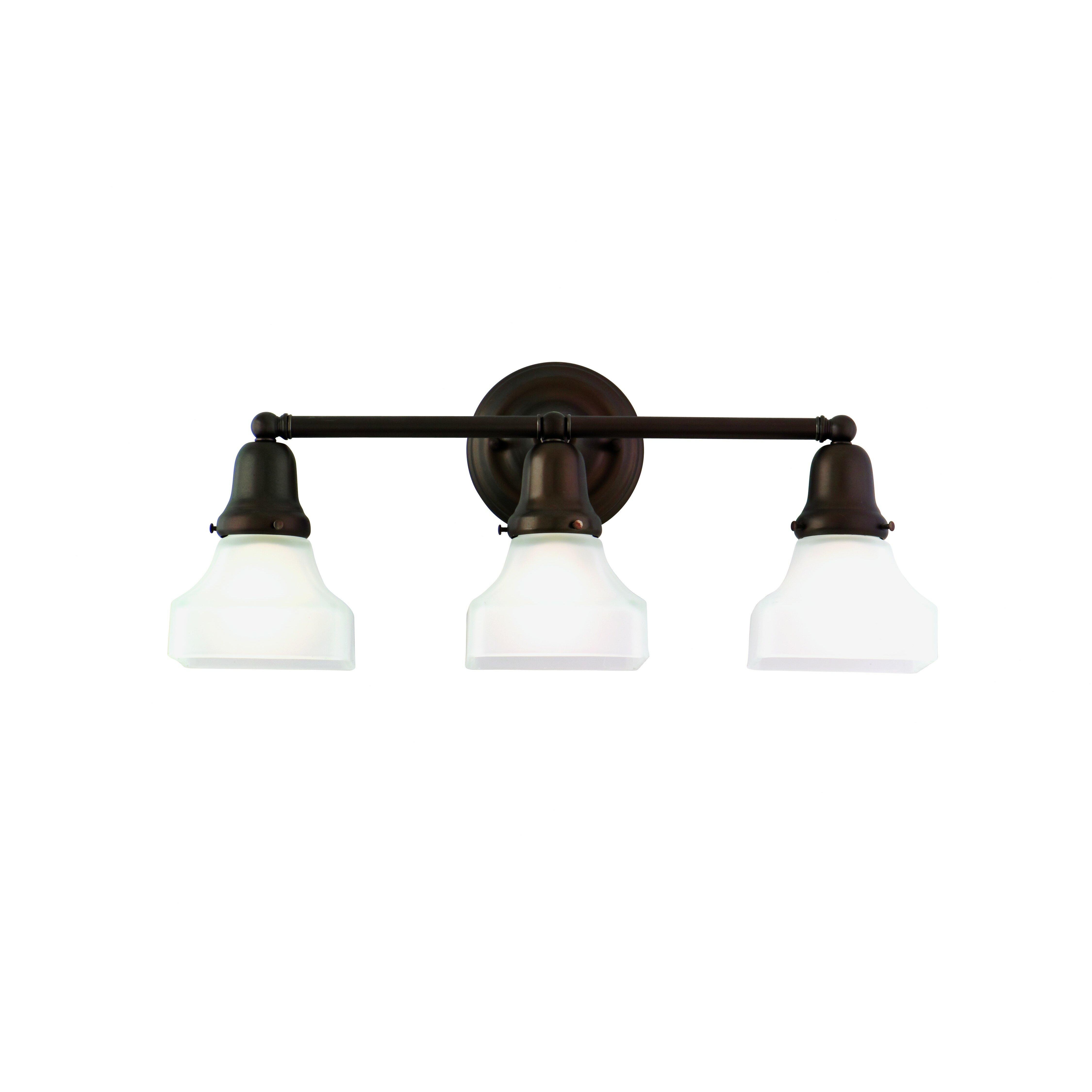 Hudson Valley Bath Vanity Lighting: Hudson Valley Lighting Edison 3 Light Bath Vanity