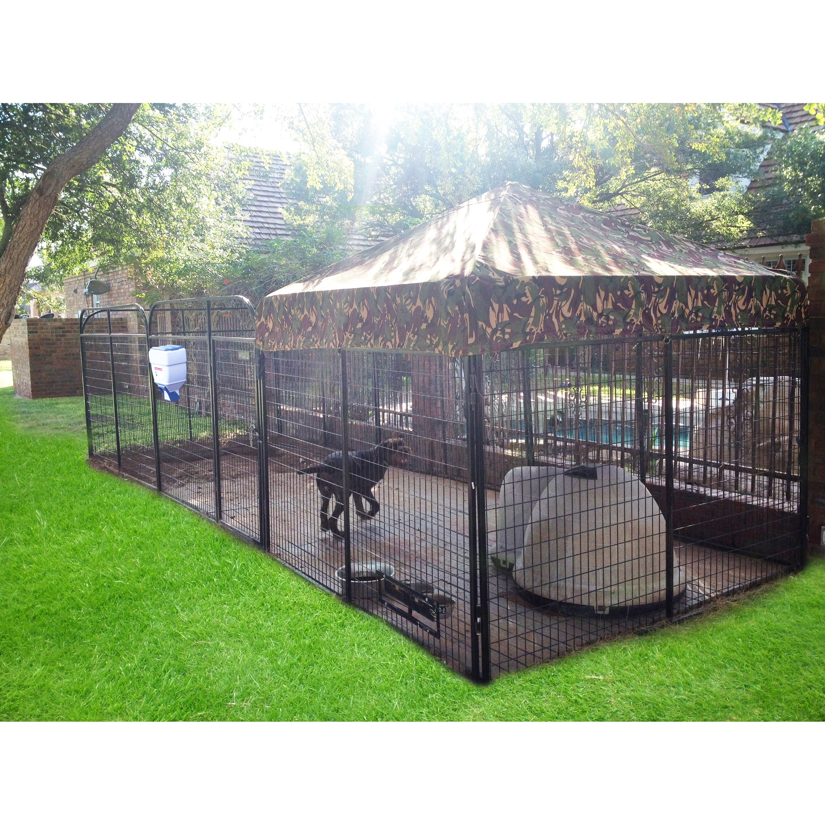K9 Kennel Ultimate Expanded Metal Yard Kennel & Reviews
