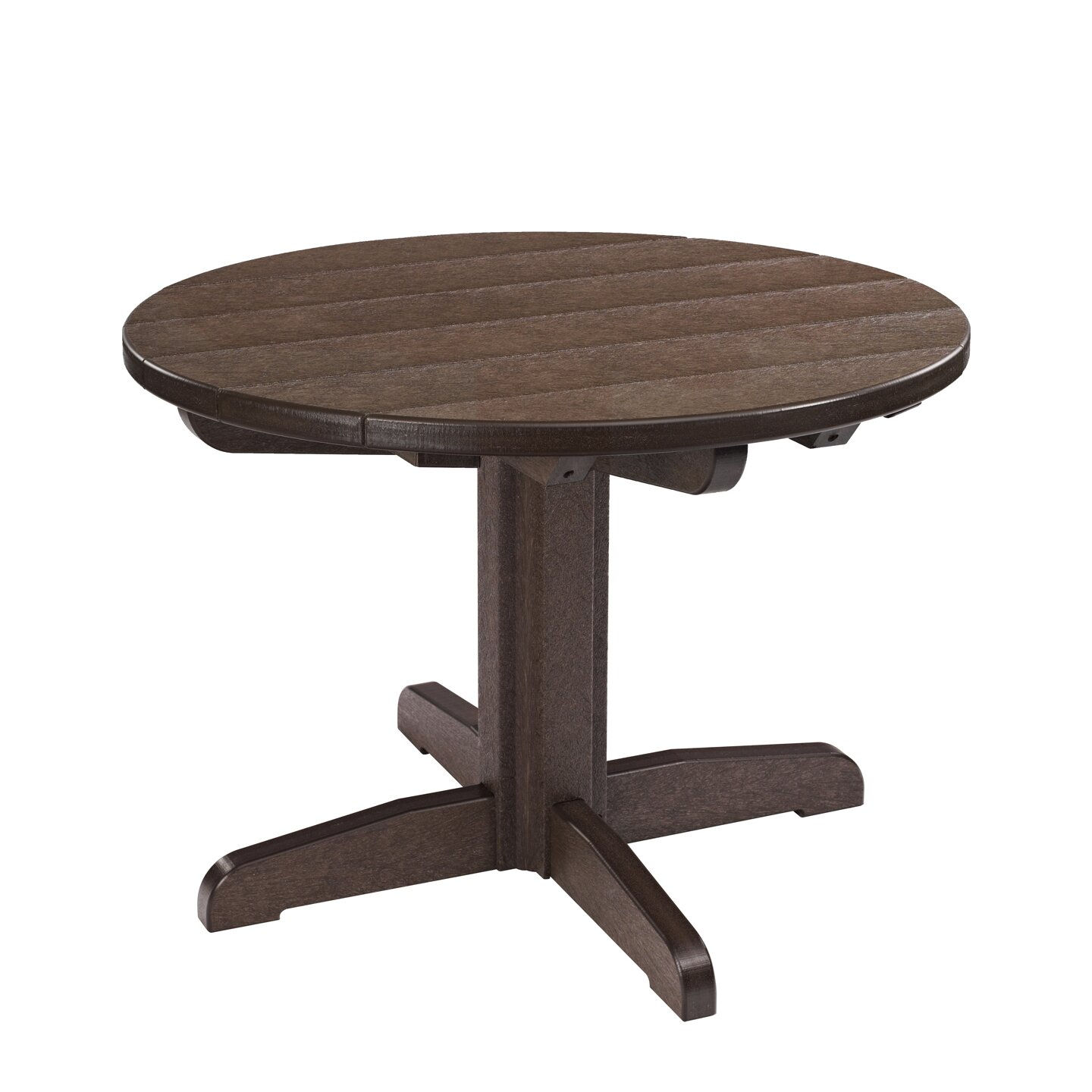 cr plastic products generations round dining table