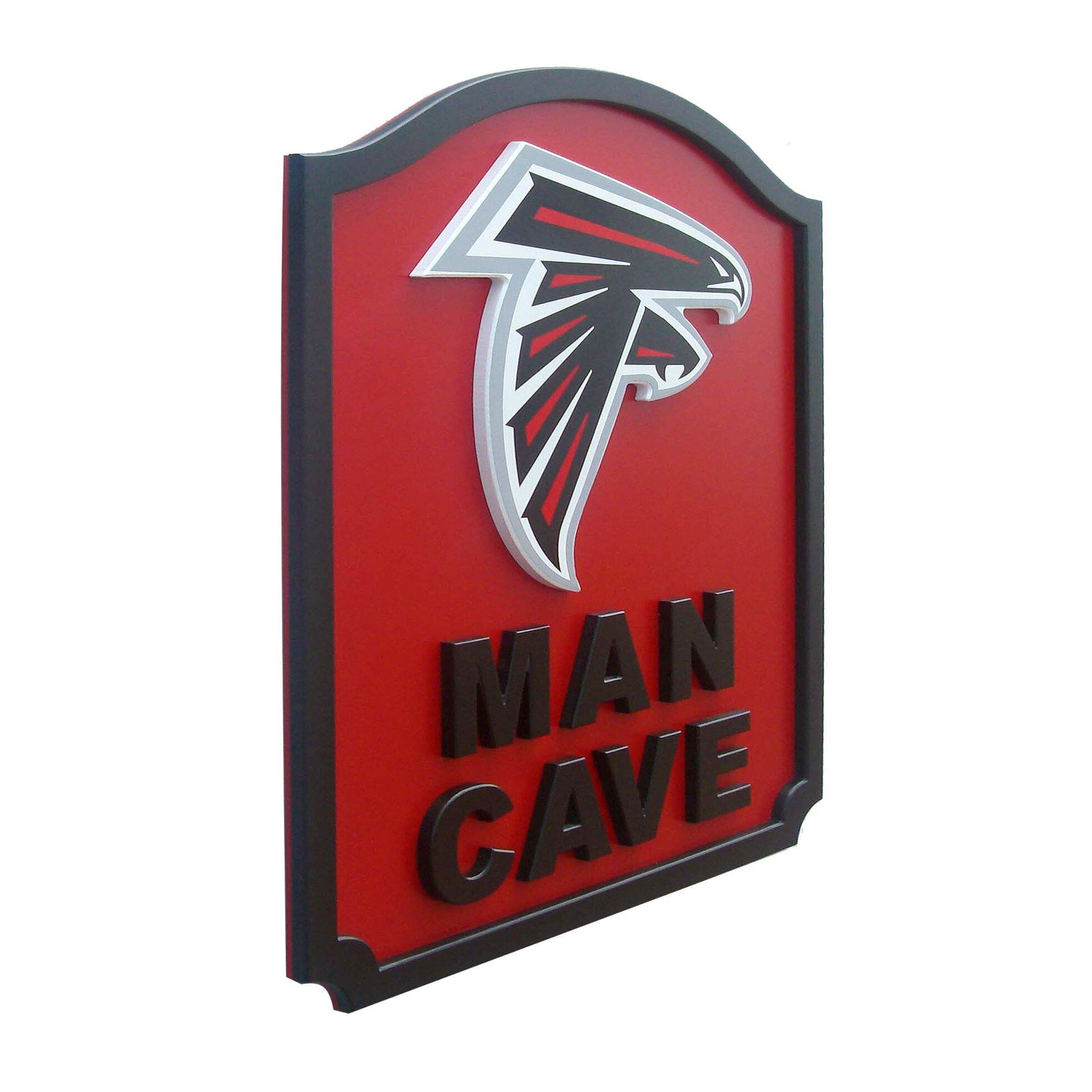 Nfl Man Cave Shield Textual Art Plaque Wayfair