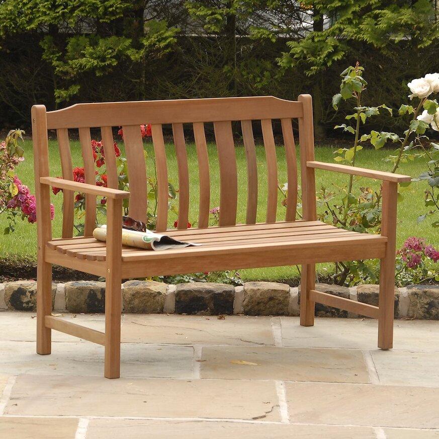 SunTime Outdoor Living Highland Nyatta Wood Garden Bench ... on Suntime Outdoor Living id=70134