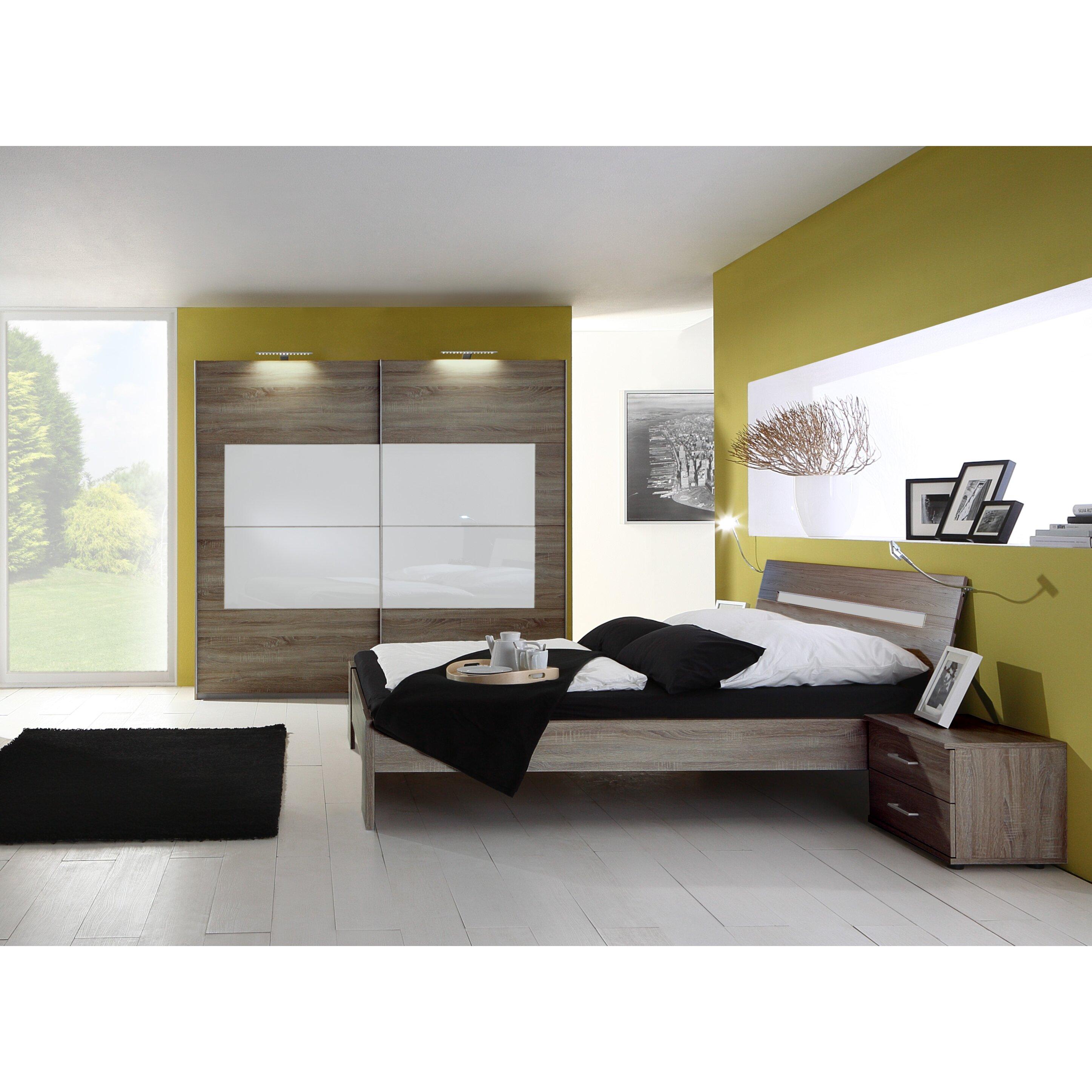 4-tlg. Schlafzimmer-Set Sanary, 180 x 200 cm von Wimex ...