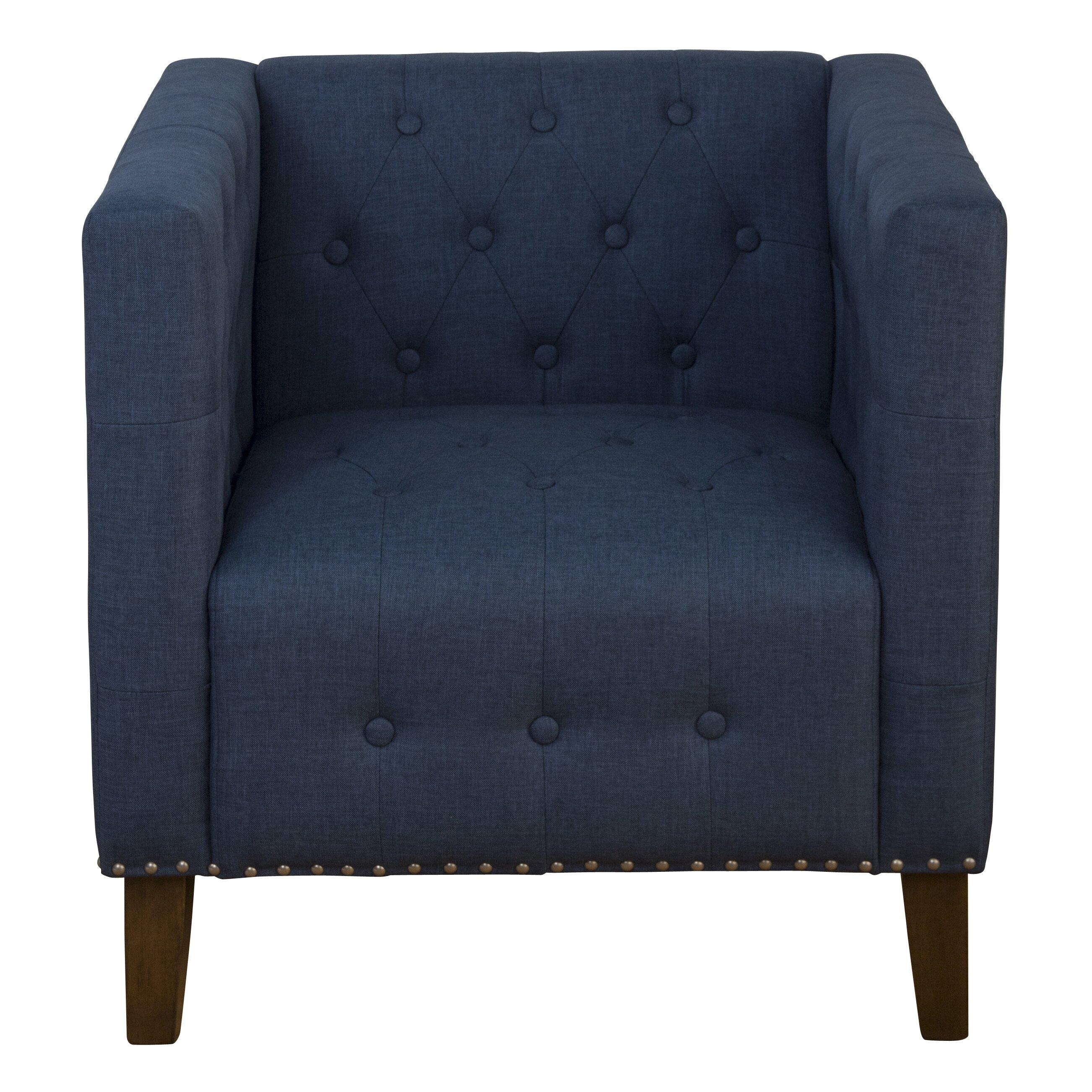 Jofran Zoe Tufted Arm Chair Amp Reviews Wayfair