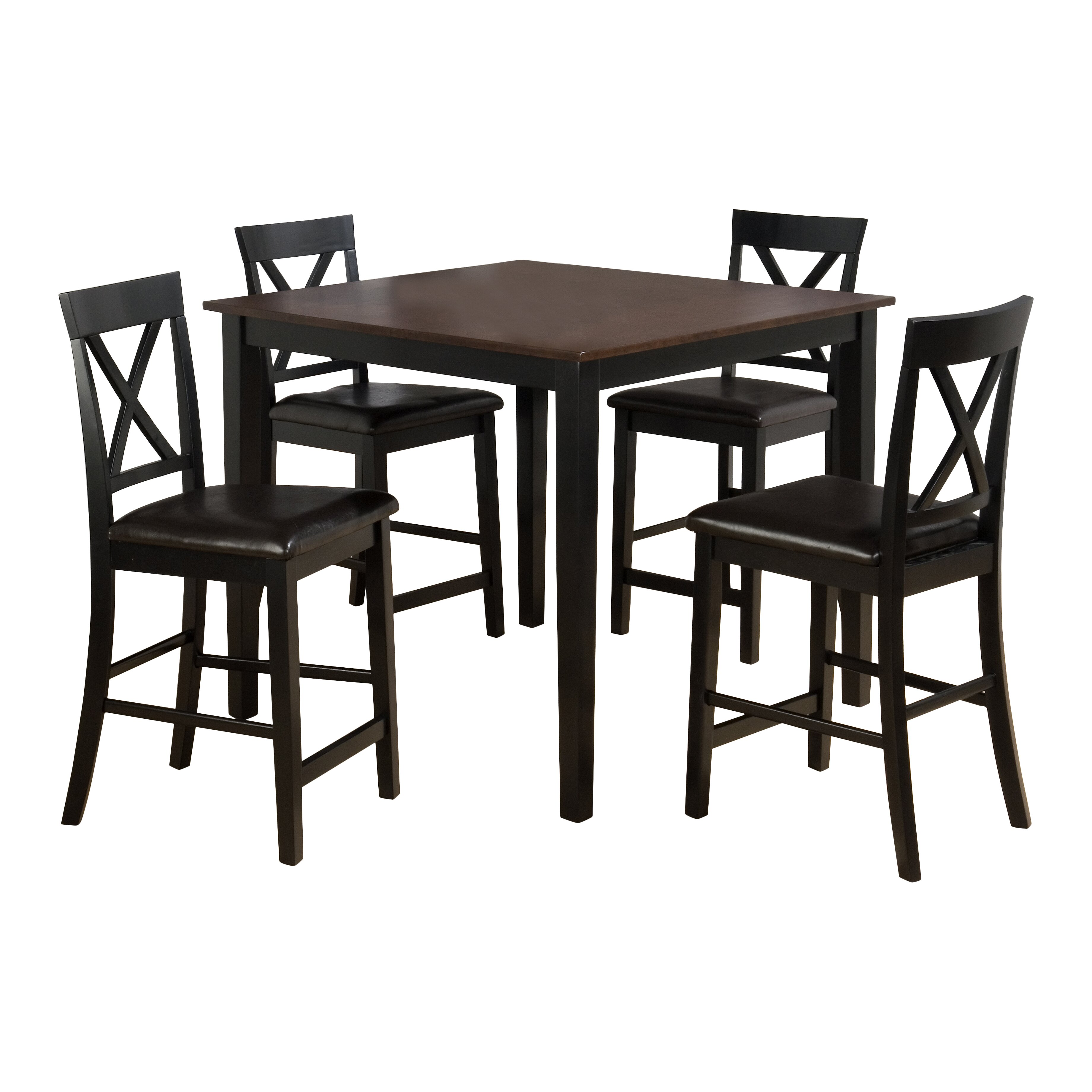 Counter Height Dining Sets 5 Piece : Jofran Burly 5 Piece Counter Height Dining Table Set & Reviews ...