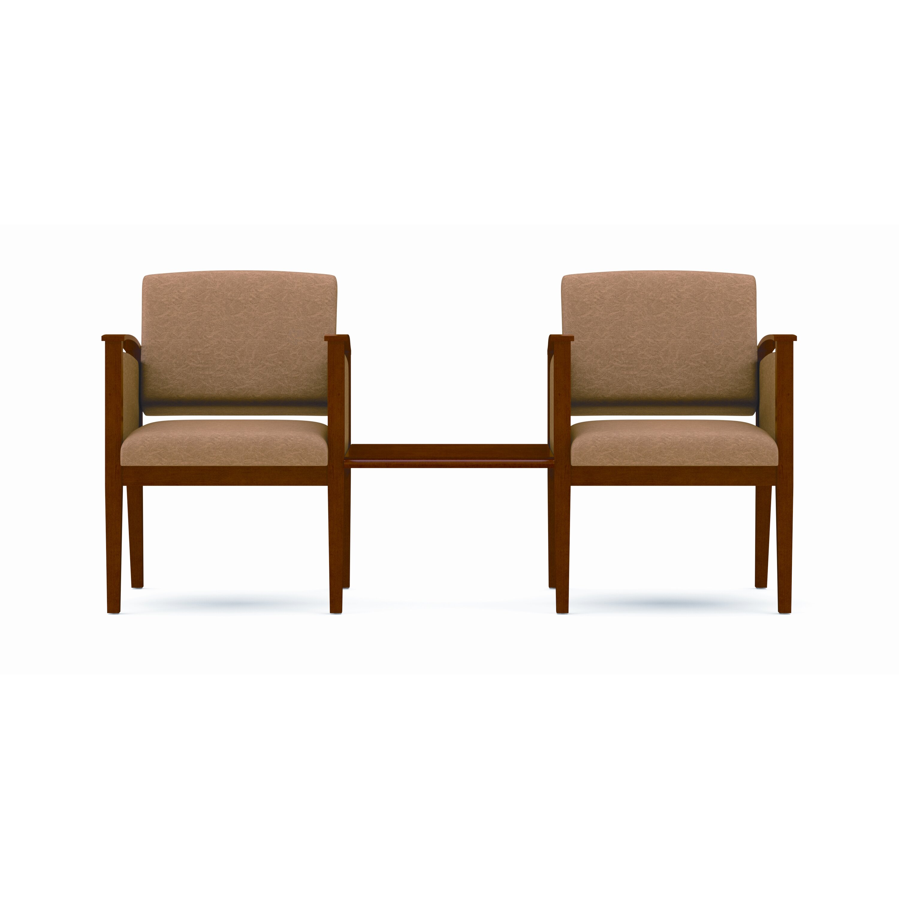 Amherst Two Chairs with Connecting Center Table