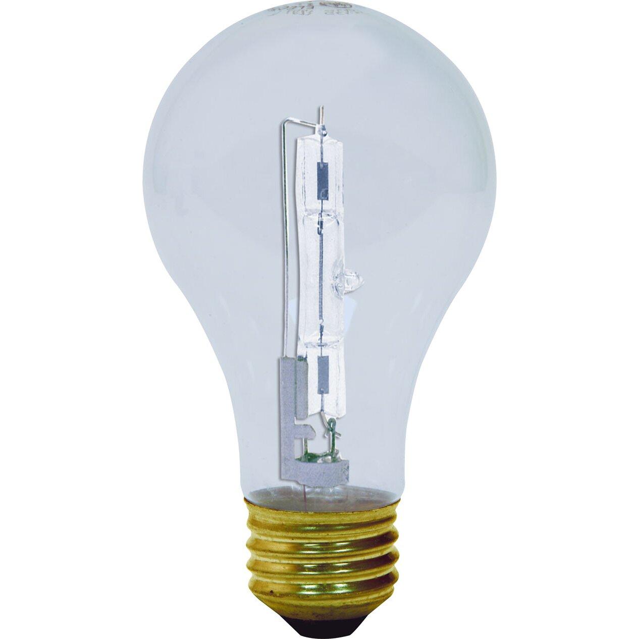 ge lighting 53w halogen light bulb reviews wayfair. Black Bedroom Furniture Sets. Home Design Ideas