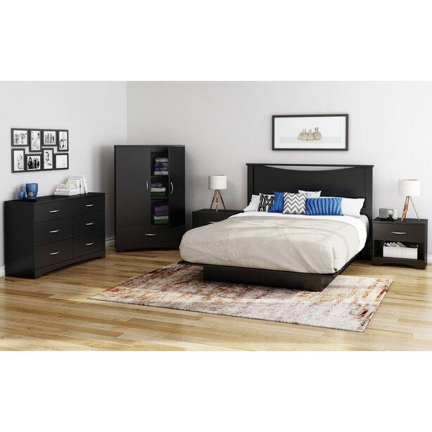 south shore step one armoire reviews wayfair. Black Bedroom Furniture Sets. Home Design Ideas