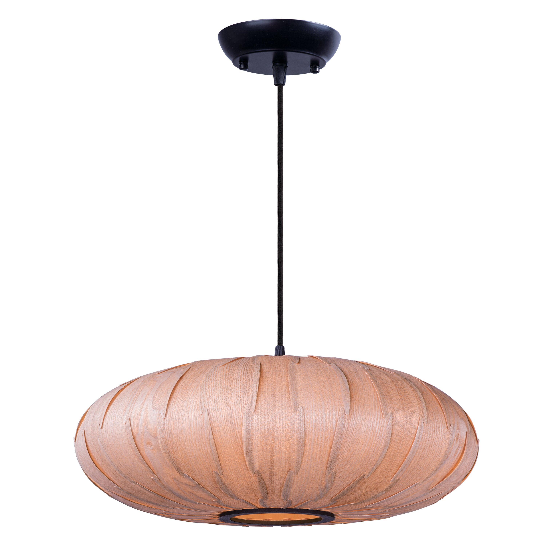 Maxim Lighting Norwood 1 Light Globe Pendant & Reviews