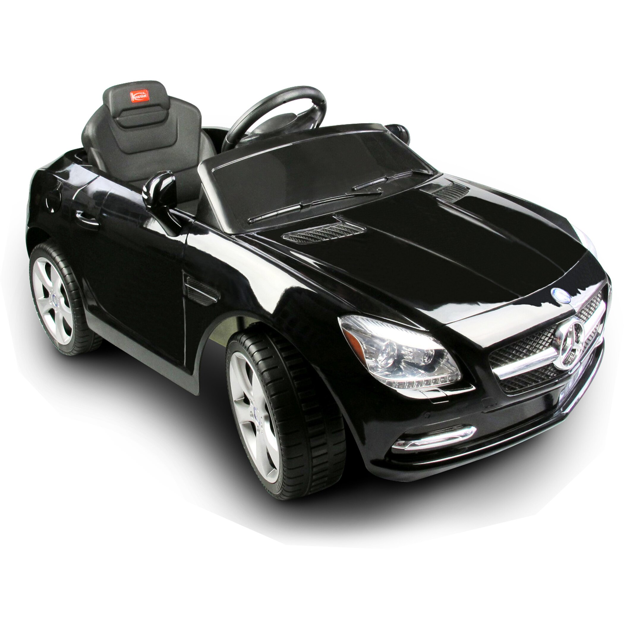 Storm Two Seater Car Vroom Rider Mercedes Benz Slk Rastar V Battery