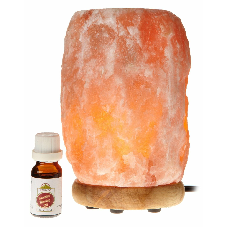 Wbm llc himalayan light 7 h table lamp with novelty shade for Wbm 7 tall himalayan natural crystal salt lamp
