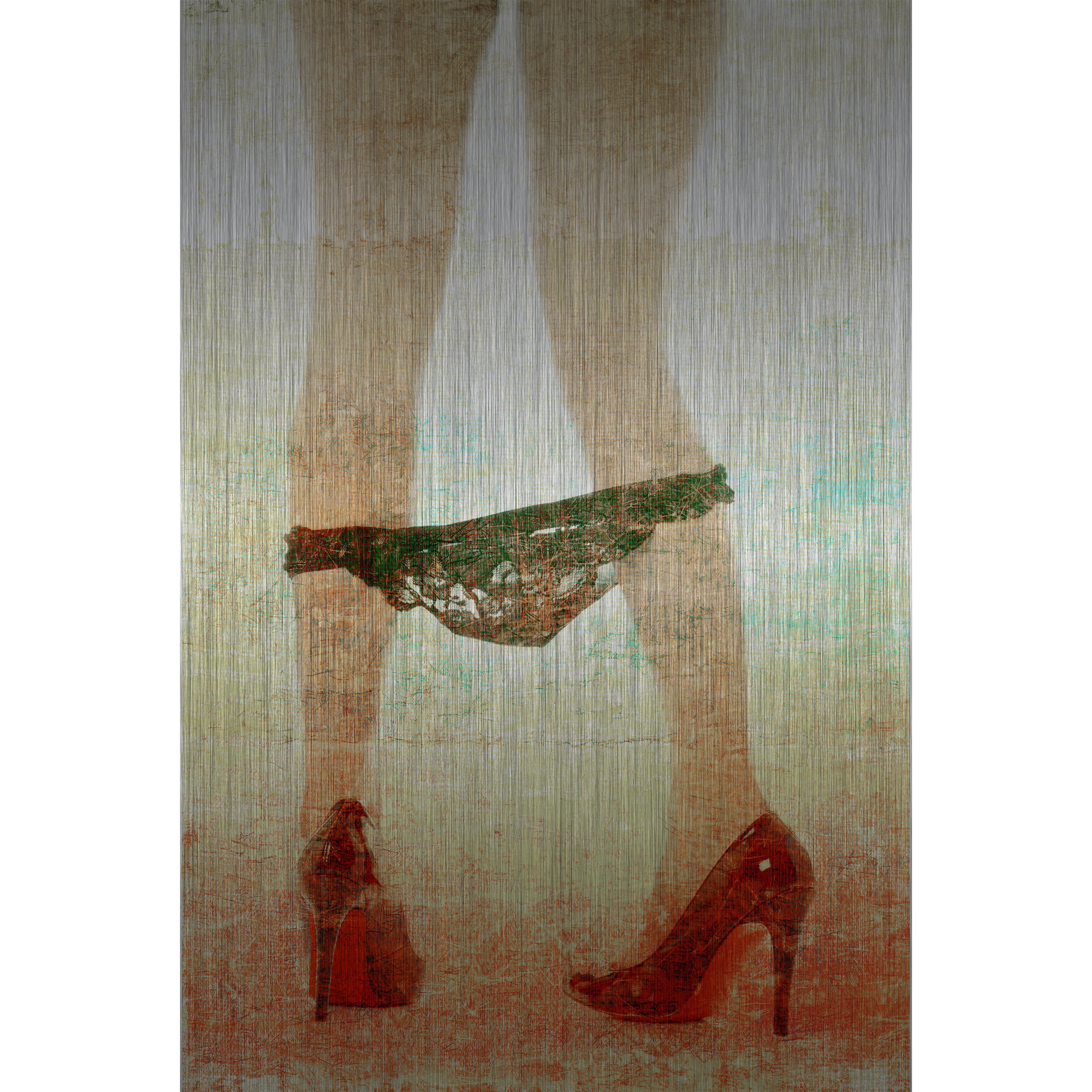 Pants Down Art Print