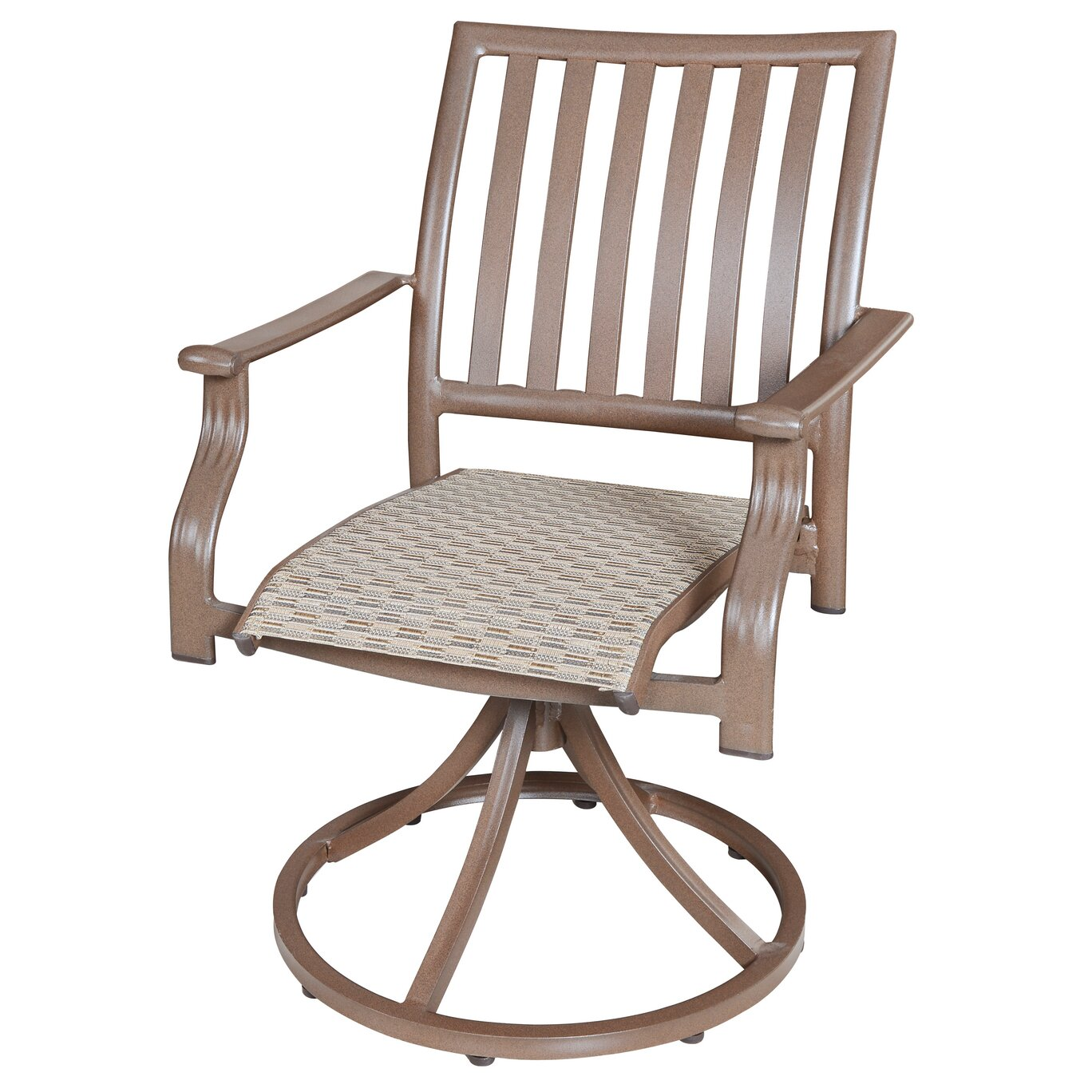 Panama Jack Island Breeze Swivel Rocking Dining Arm Chair