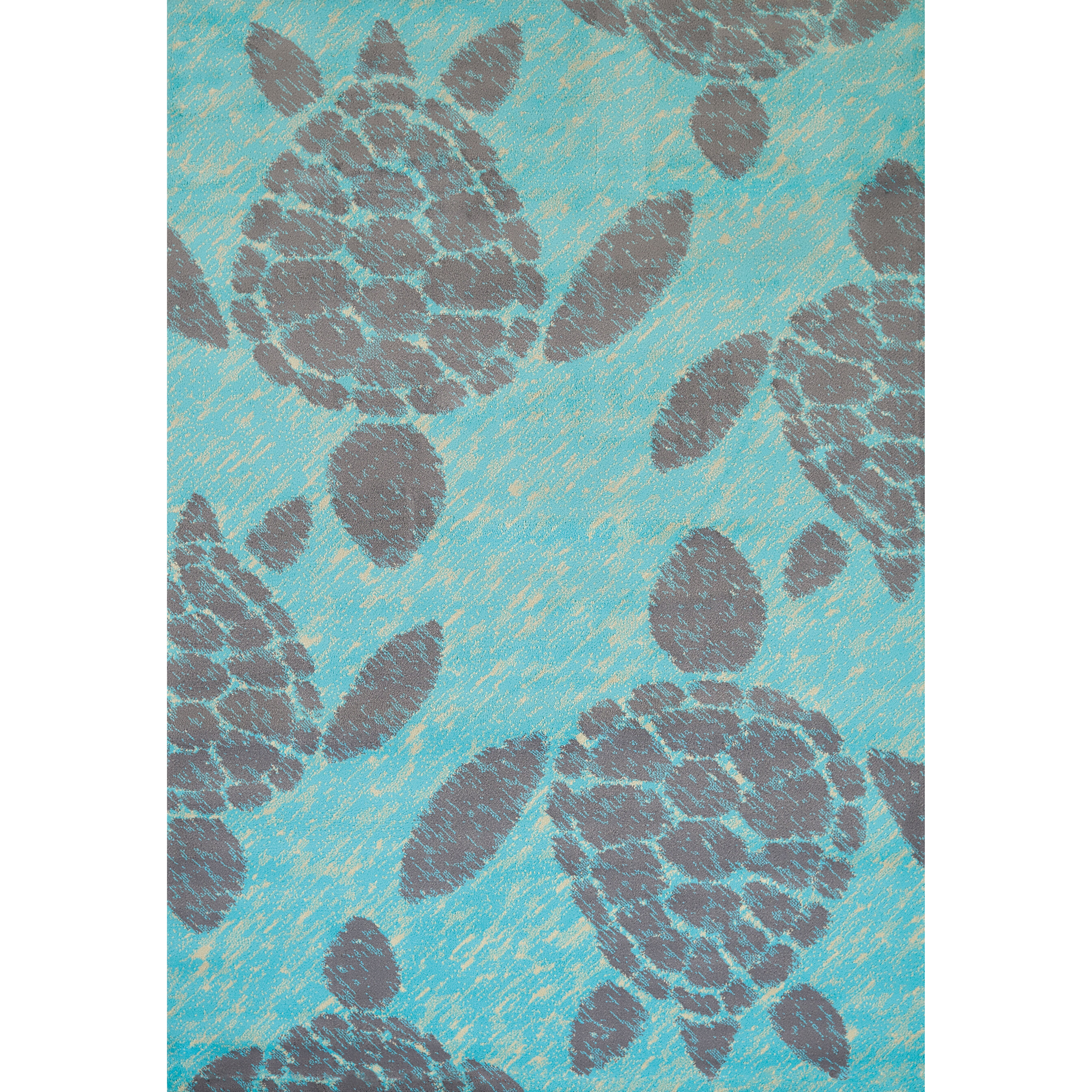 Panama Jack Island Breeze Sea Turtle Blue Area Rug