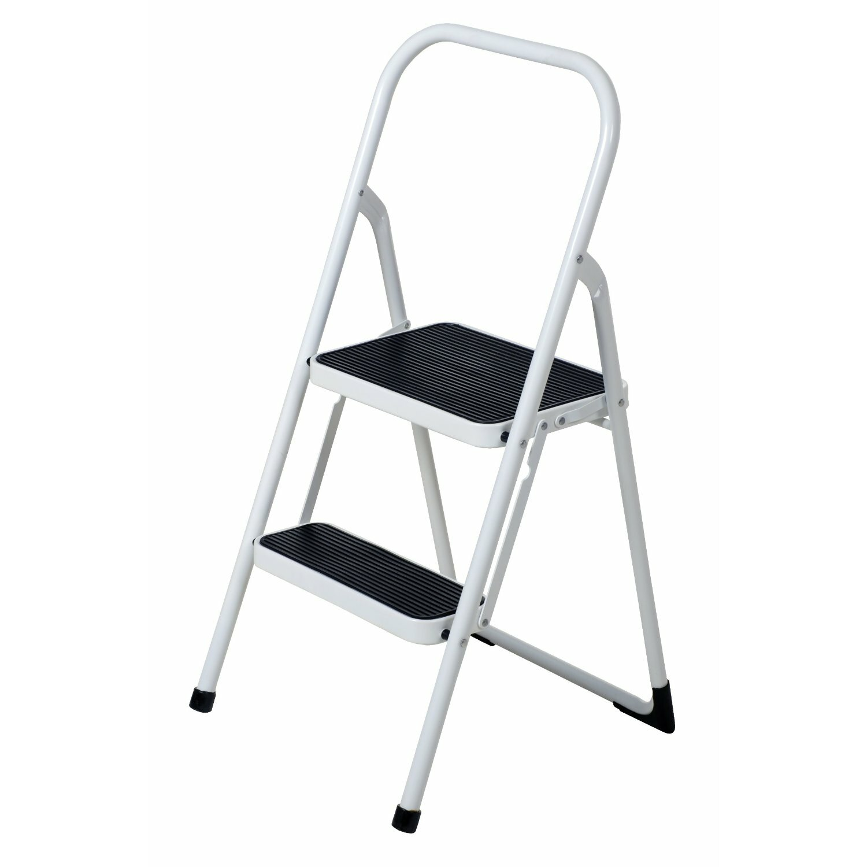 Above Edge Folding Lightweight 2 Step Step Stool Ladder