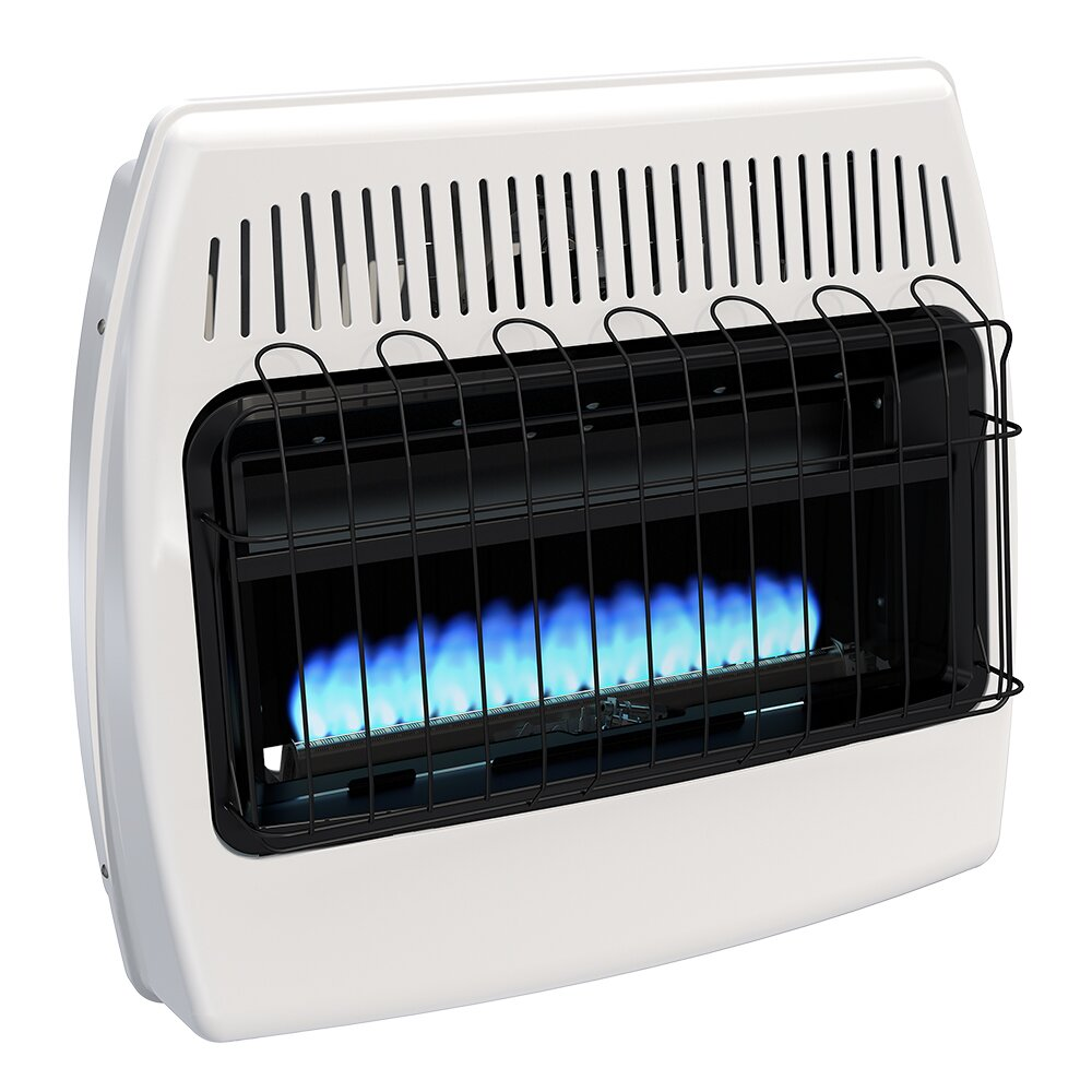 Dyna Glo 30 000 Btu Wall Mounted Natural Gas Manual Vent