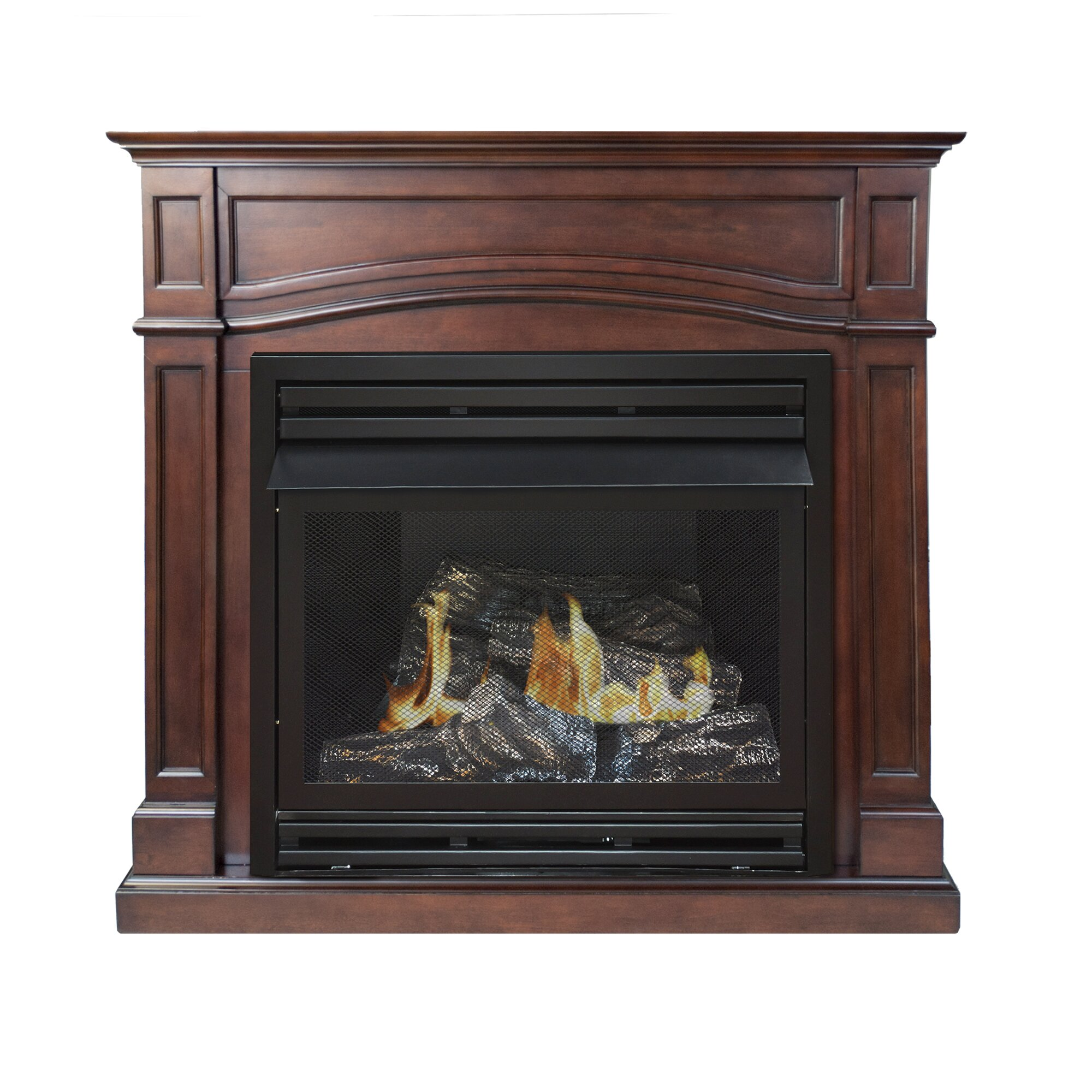 Pleasant Hearth Dual Fuel Vent Free Gas Fireplace Reviews Wayfair