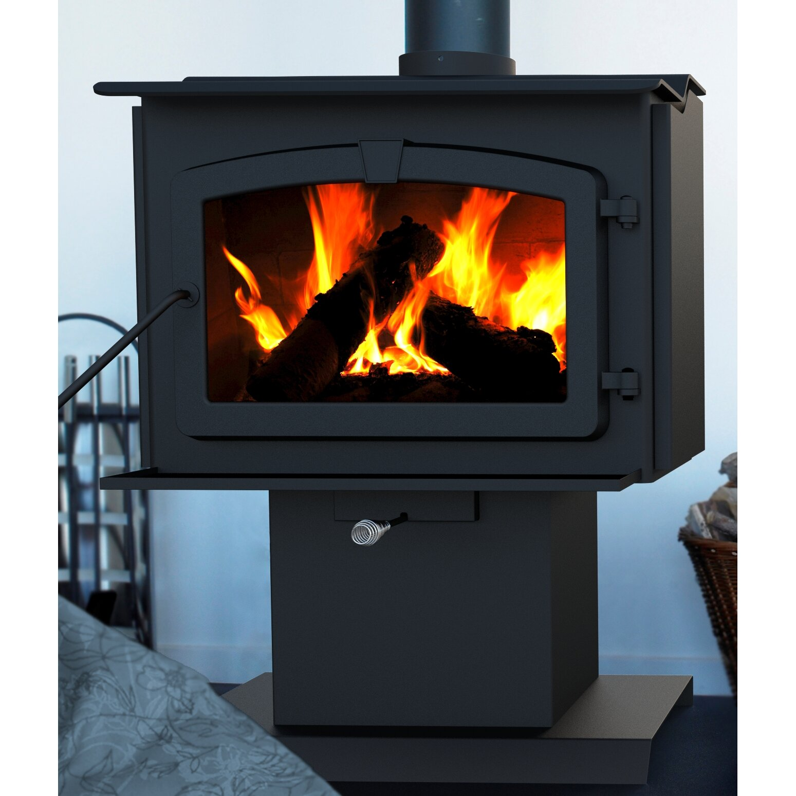 Pleasant Hearth: Pleasant Hearth Wood Burning Stove & Reviews