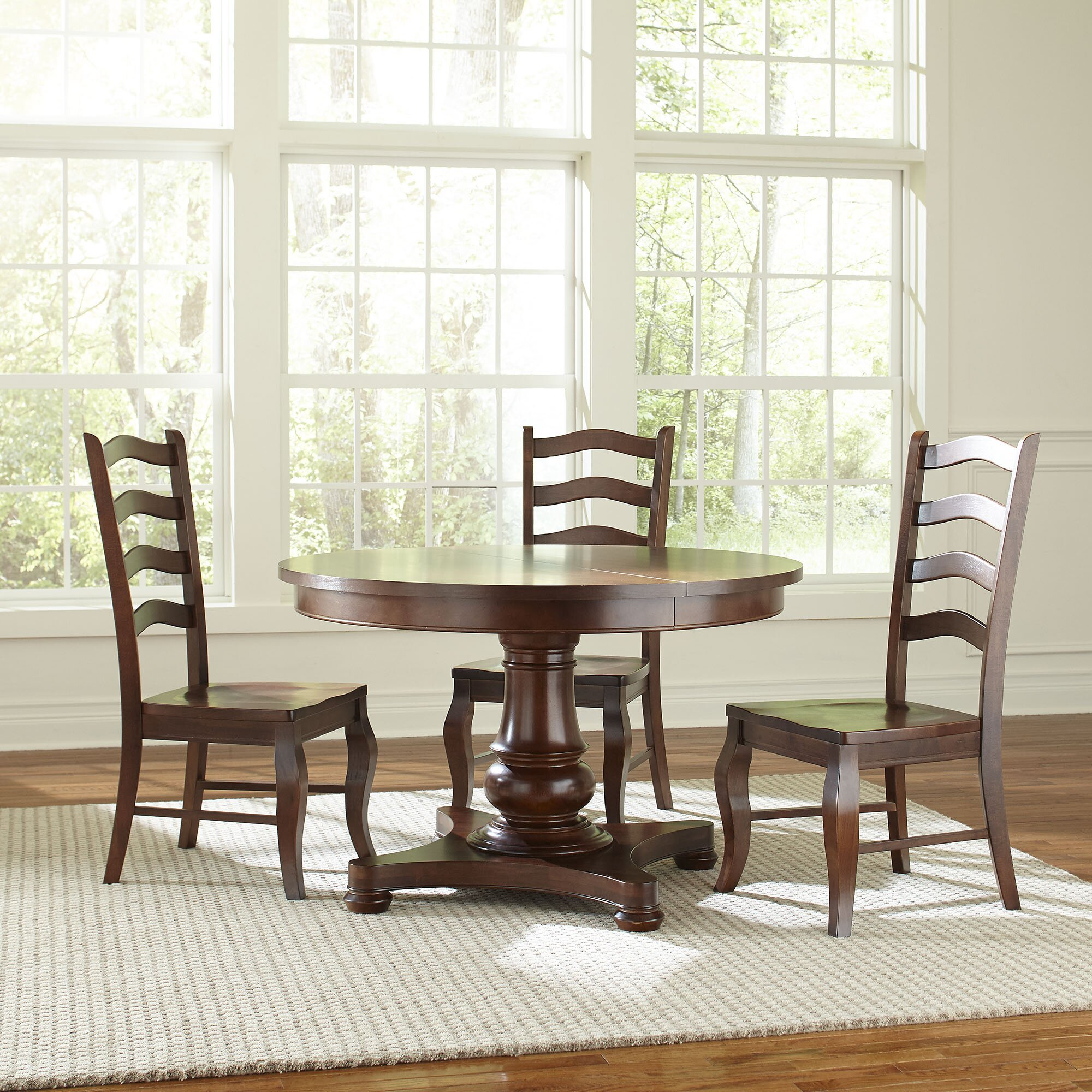 ... Sedgwick 48-inch Extending Custom Dining Table & Reviews  Wayfair