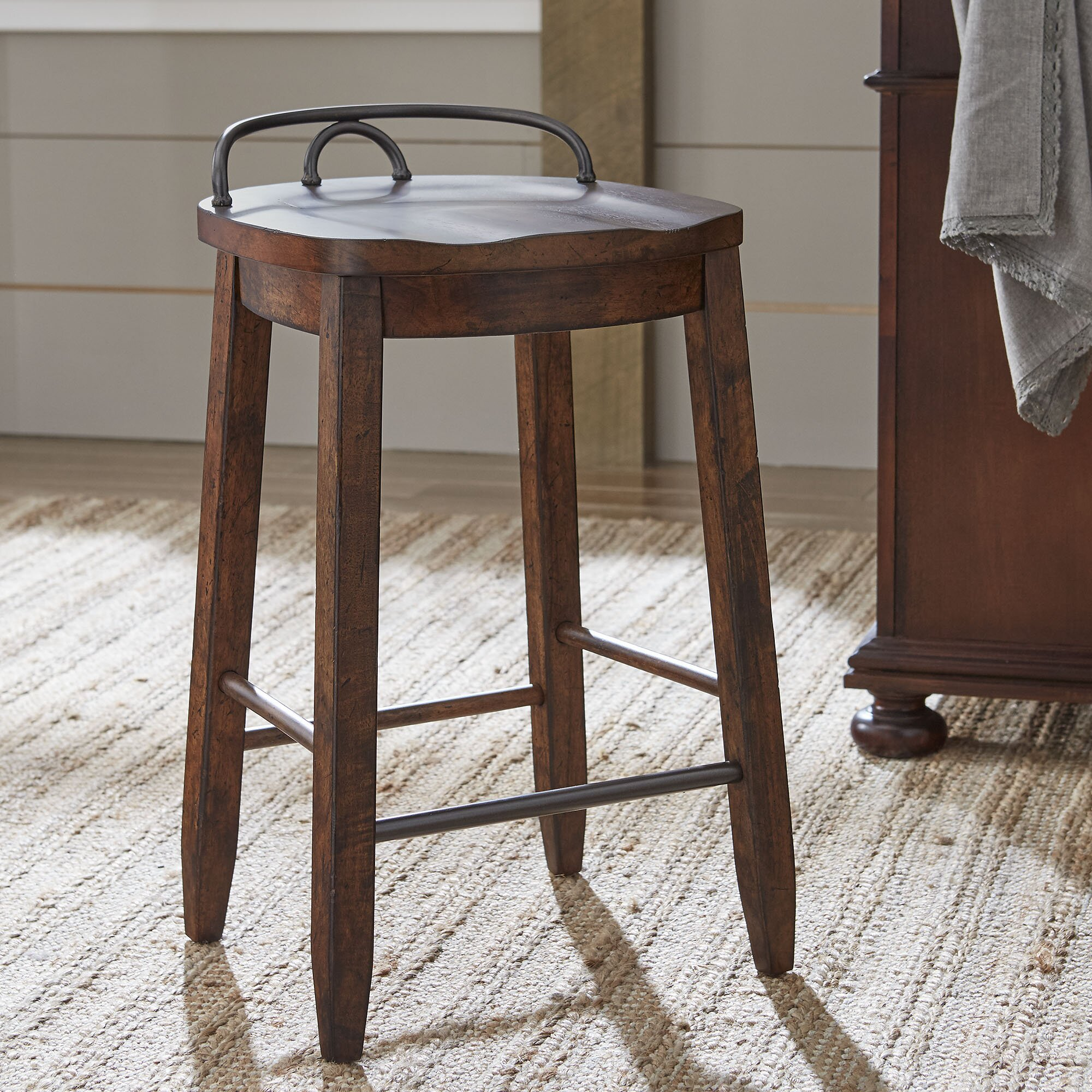Wayfair Counter Stools Backless