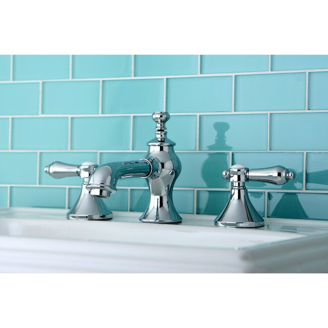 Bel Air Double Handle Widespread Bathroom Faucet with Pop-Up Drain by ...