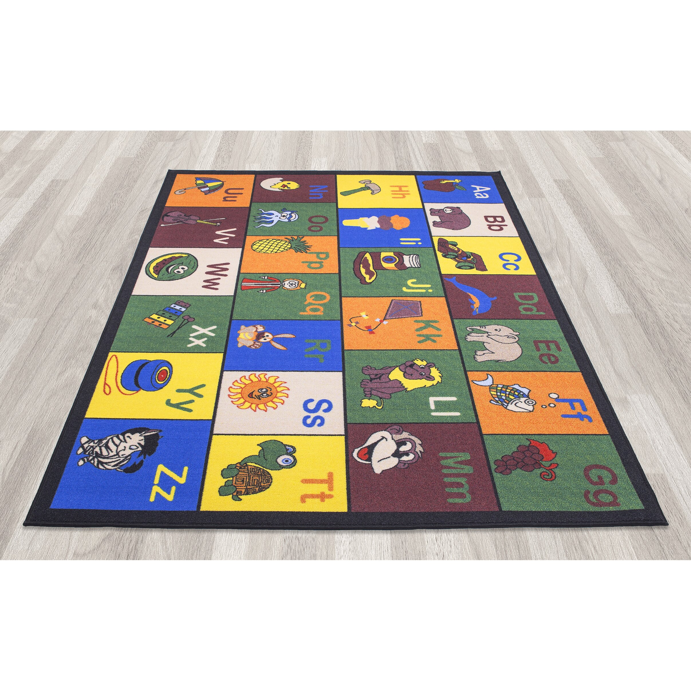 Learning Rug: Ottomanson Babies Children's Educational Area Rug
