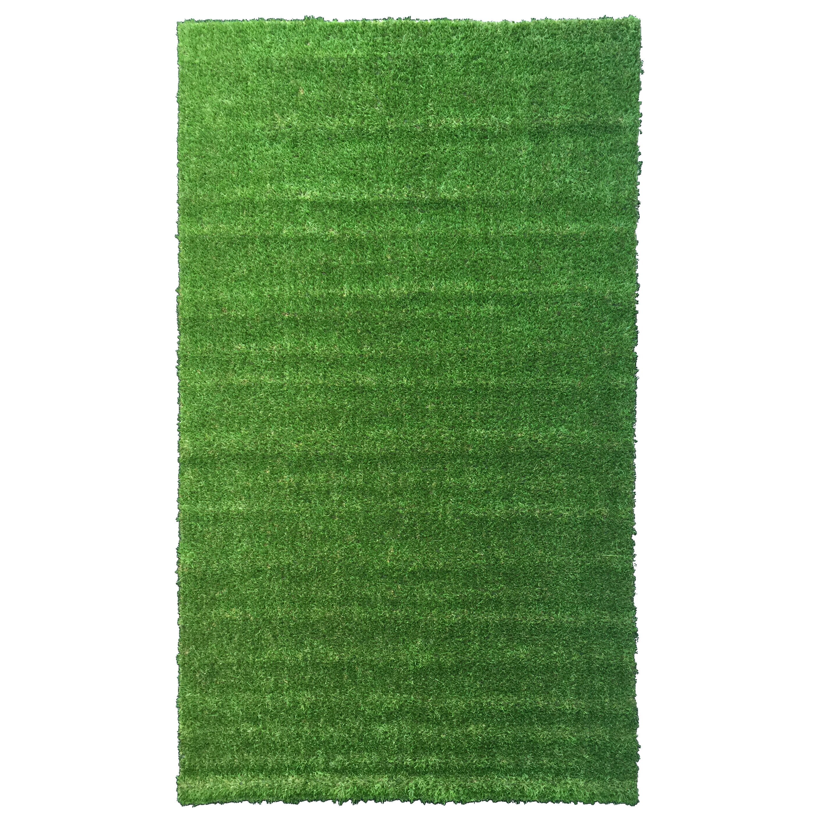 Ottomanson garden grass green indoor outdoor area rug for Indoor outdoor carpet green