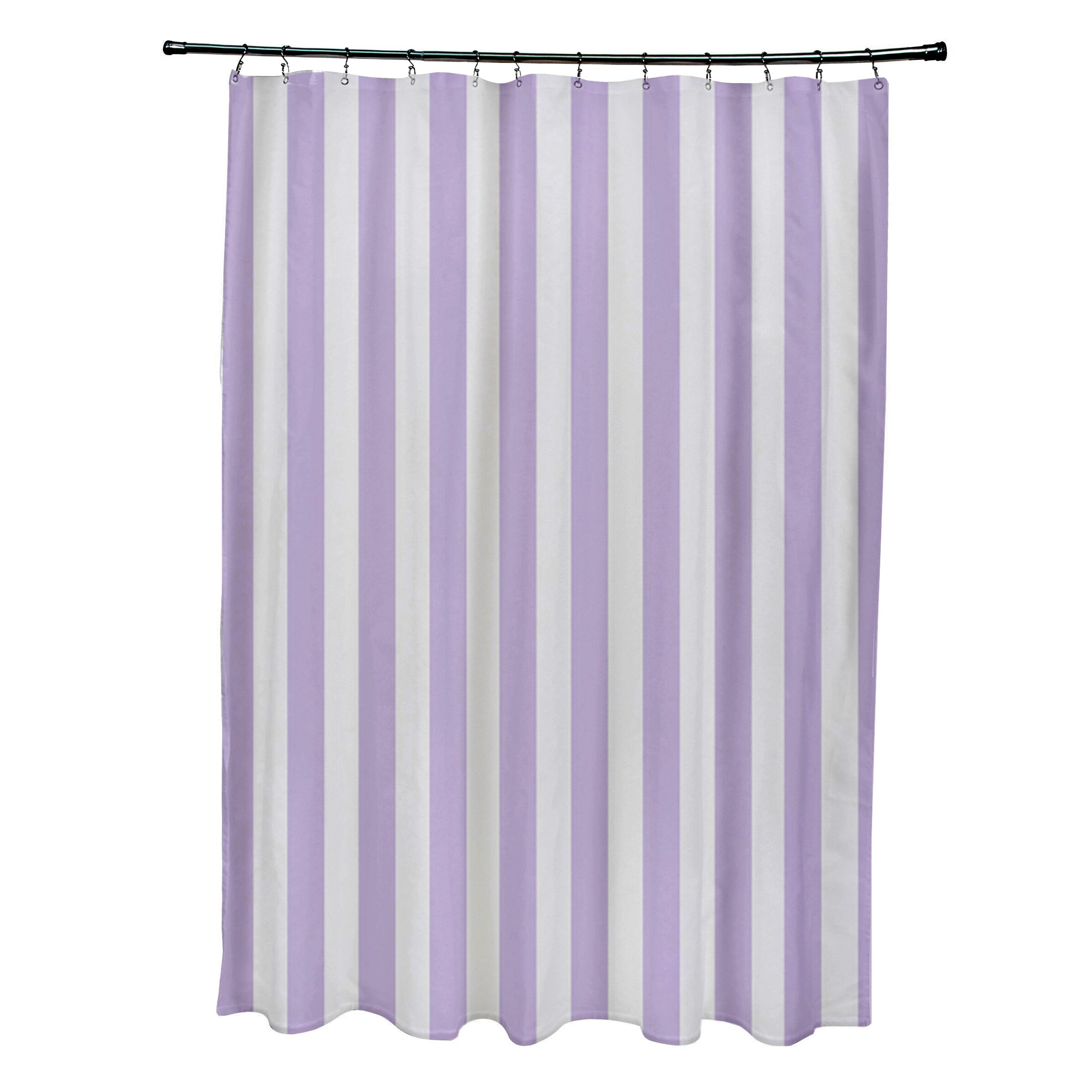 By design striped shower curtain amp reviews wayfair