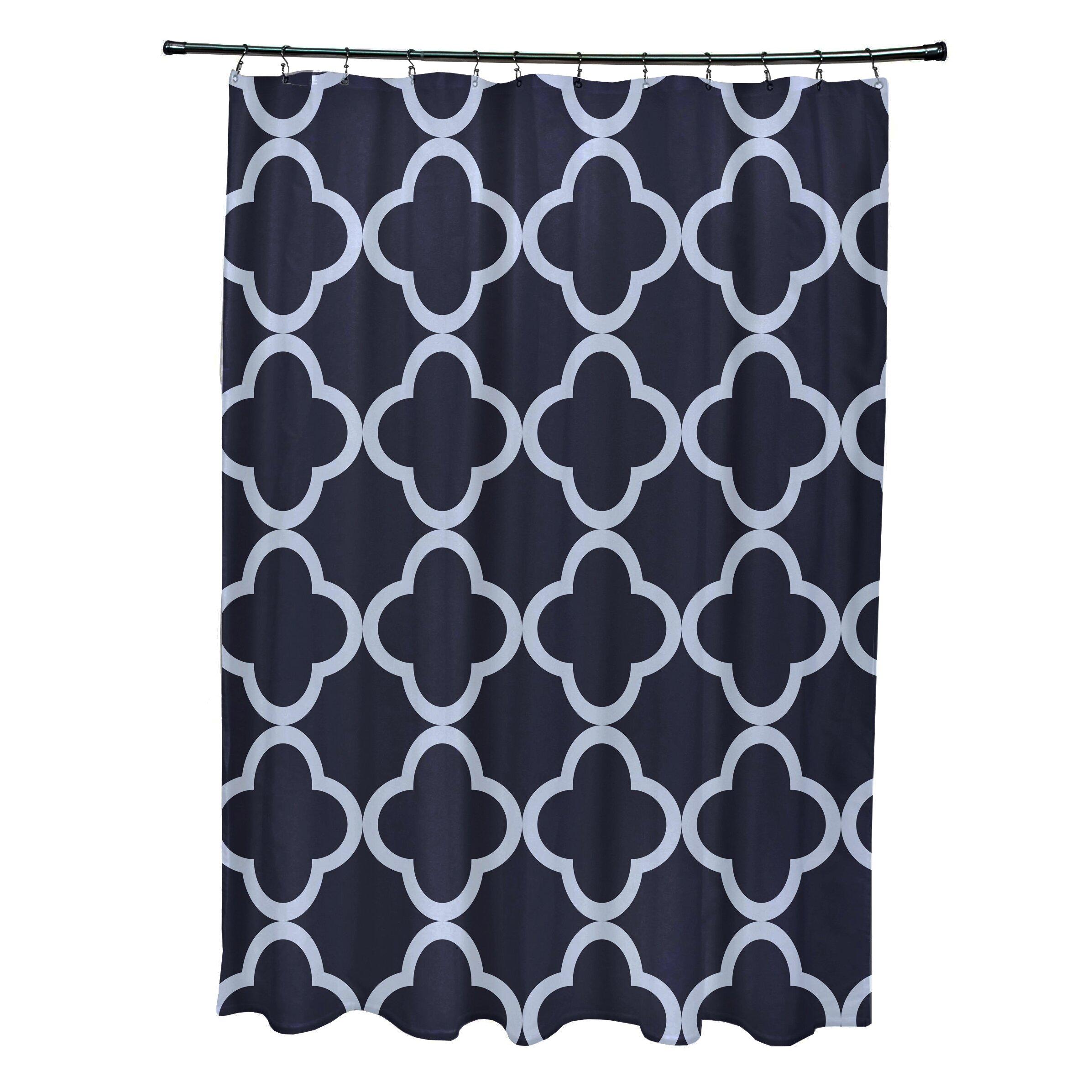 Marrakech Express Geometric Print Shower Curtain Wayfair