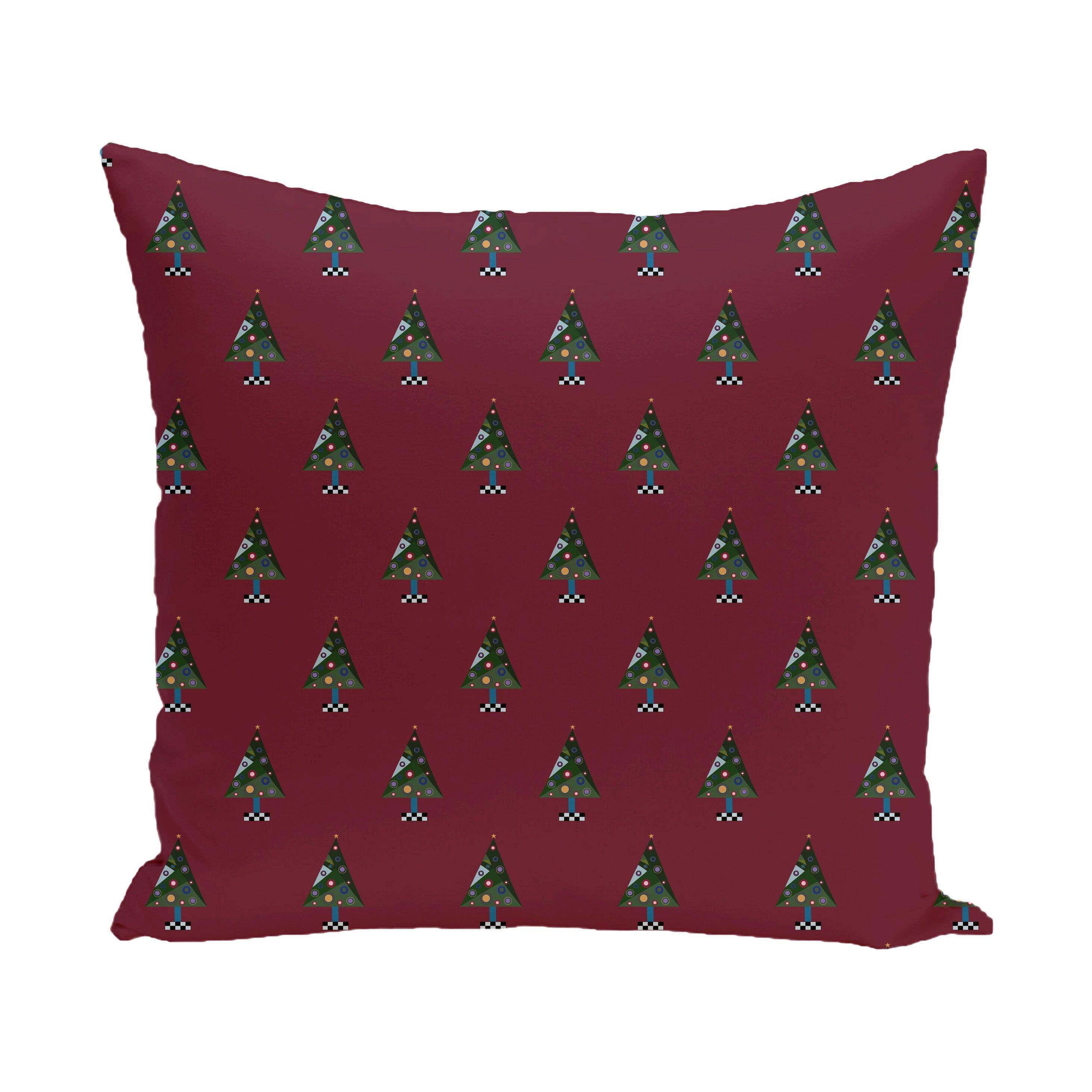 Crazy Christmas Decorative Holiday Print Throw Pillow Wayfair