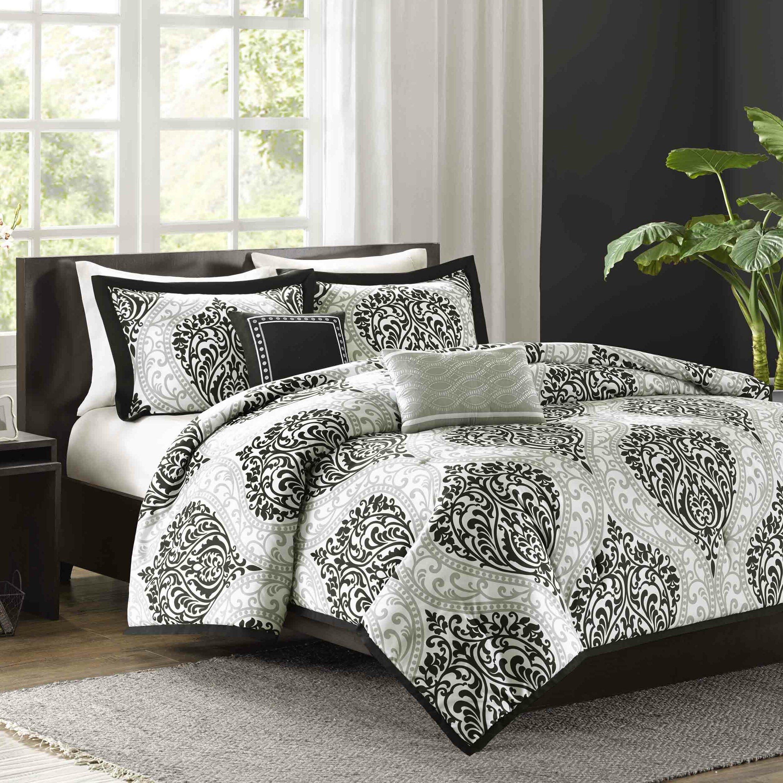 intelligent design senna 5 piece king california king duvet cover set reviews wayfair. Black Bedroom Furniture Sets. Home Design Ideas