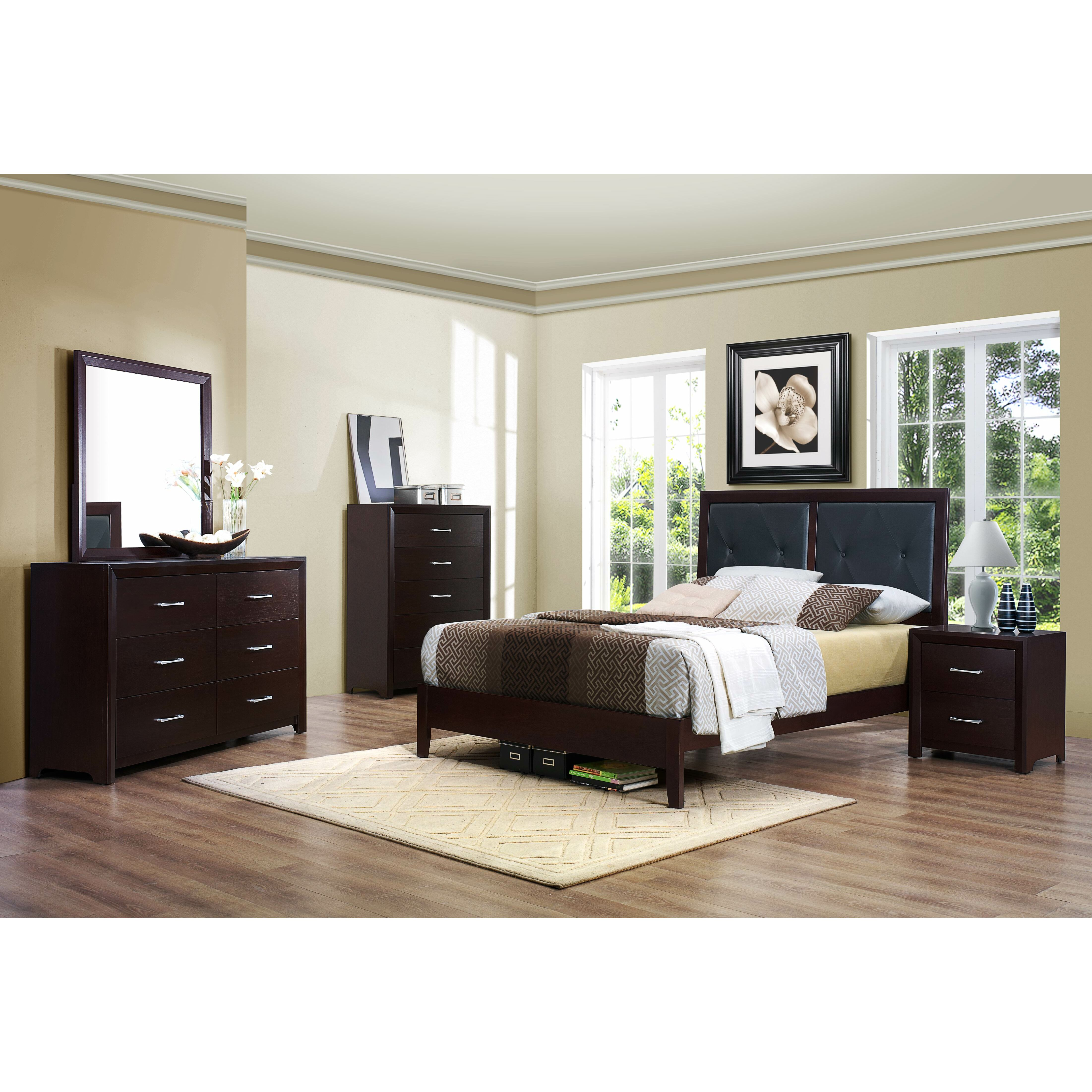 Woodhaven Hill Edina 5 Drawer Chest & Reviews