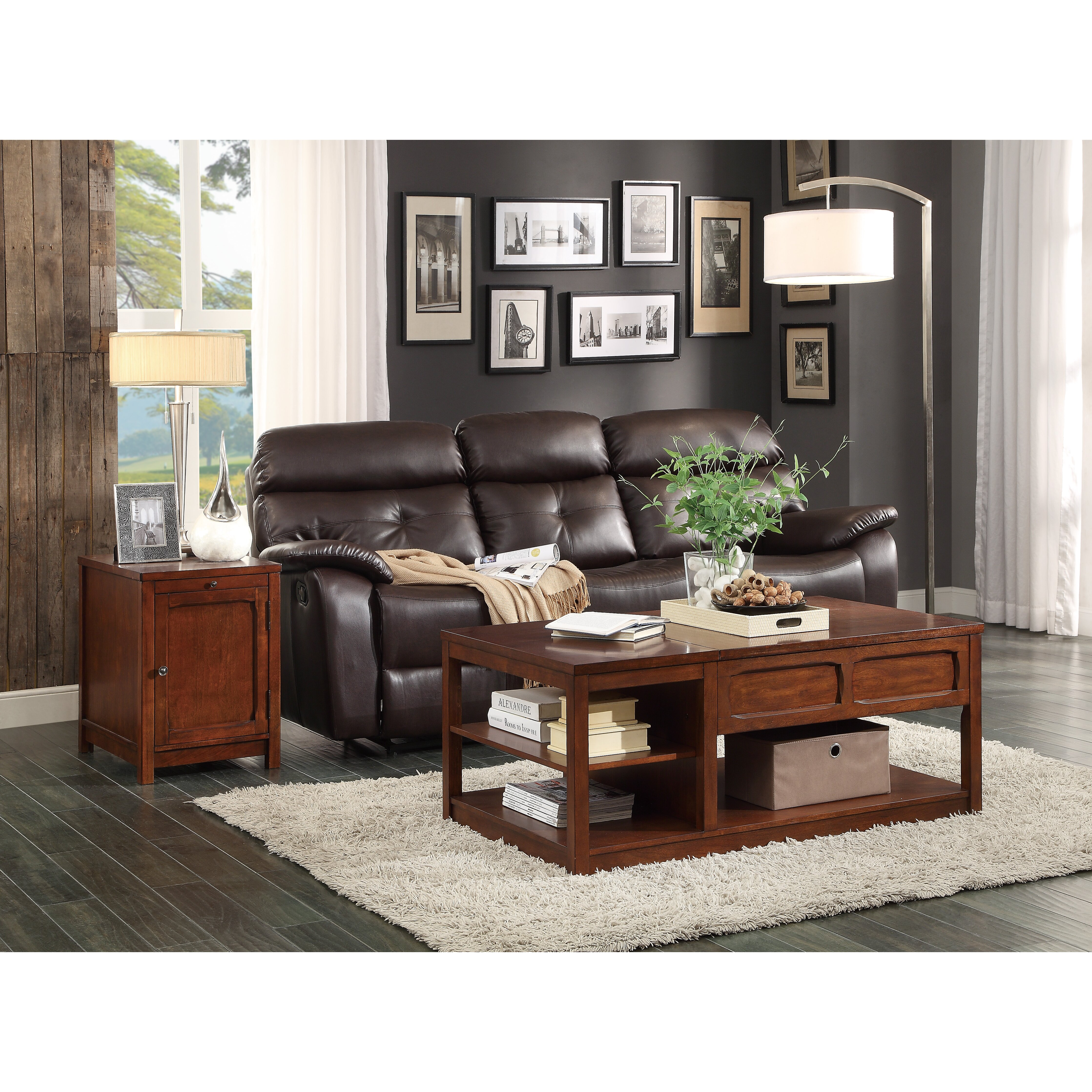 Woodhaven Hill Booker Coffee Table With Lift Top Reviews Wayfair