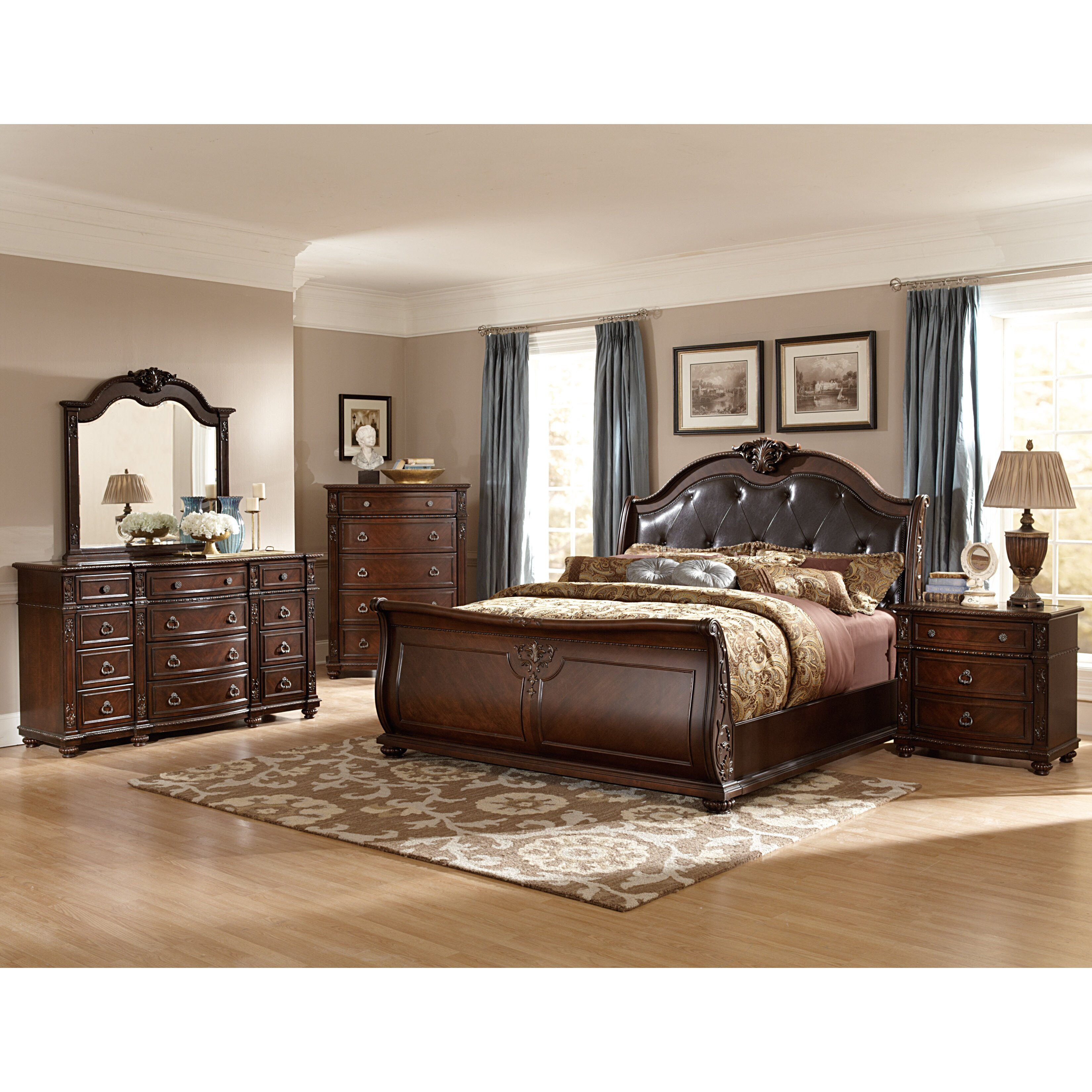 woodhaven hill hillcrest manor panel customizable bedroom