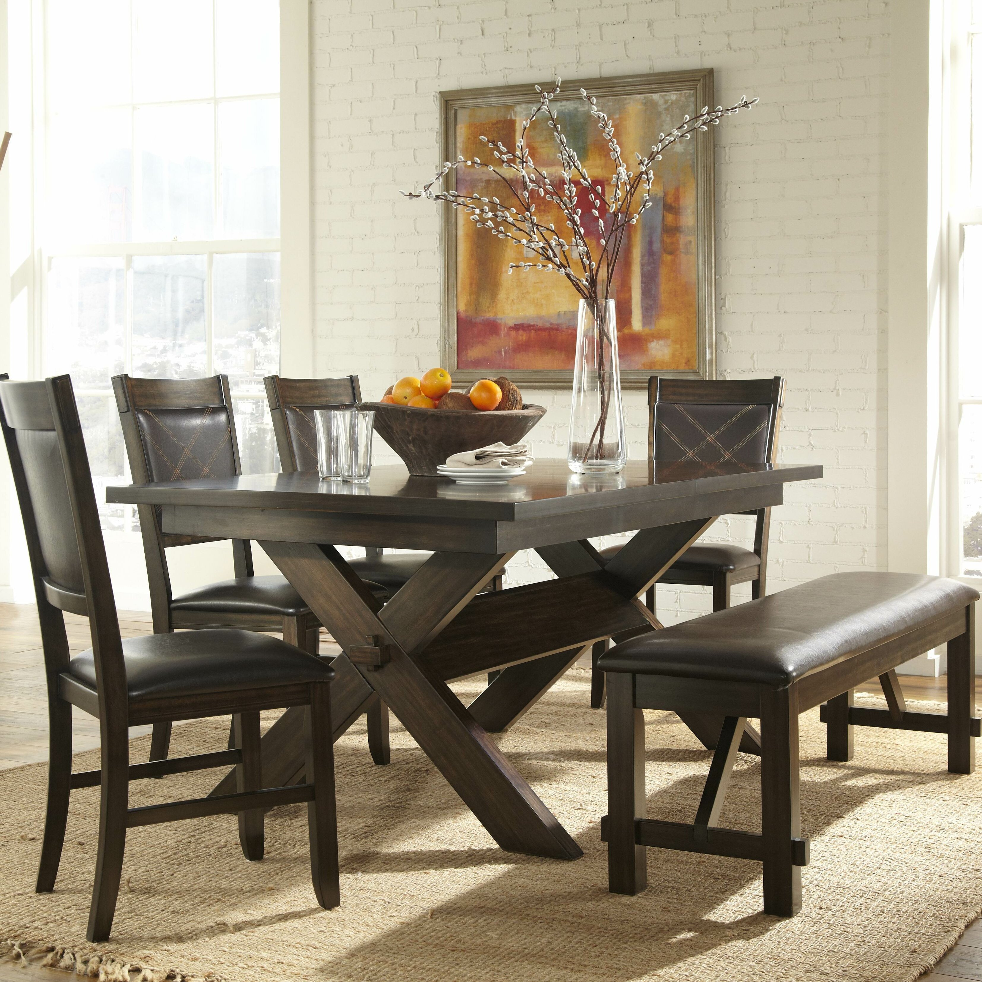 Woodhaven Hill Roy Extendable Dining Table & Reviews