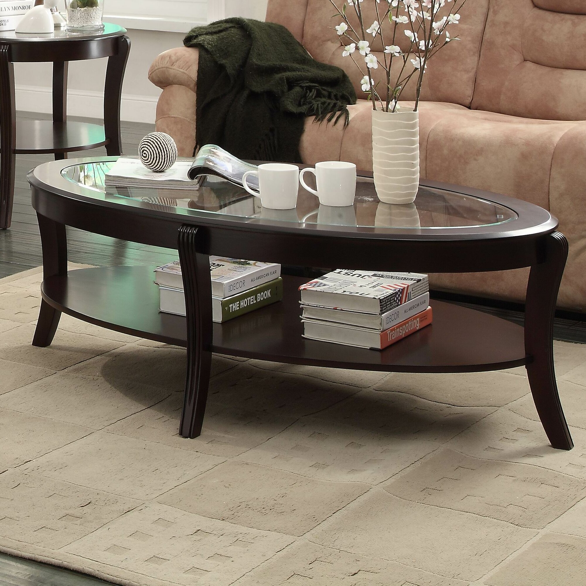 Woodhaven hill pierre coffee table reviews wayfair - Woodbridge home designs avalon coffee table ...