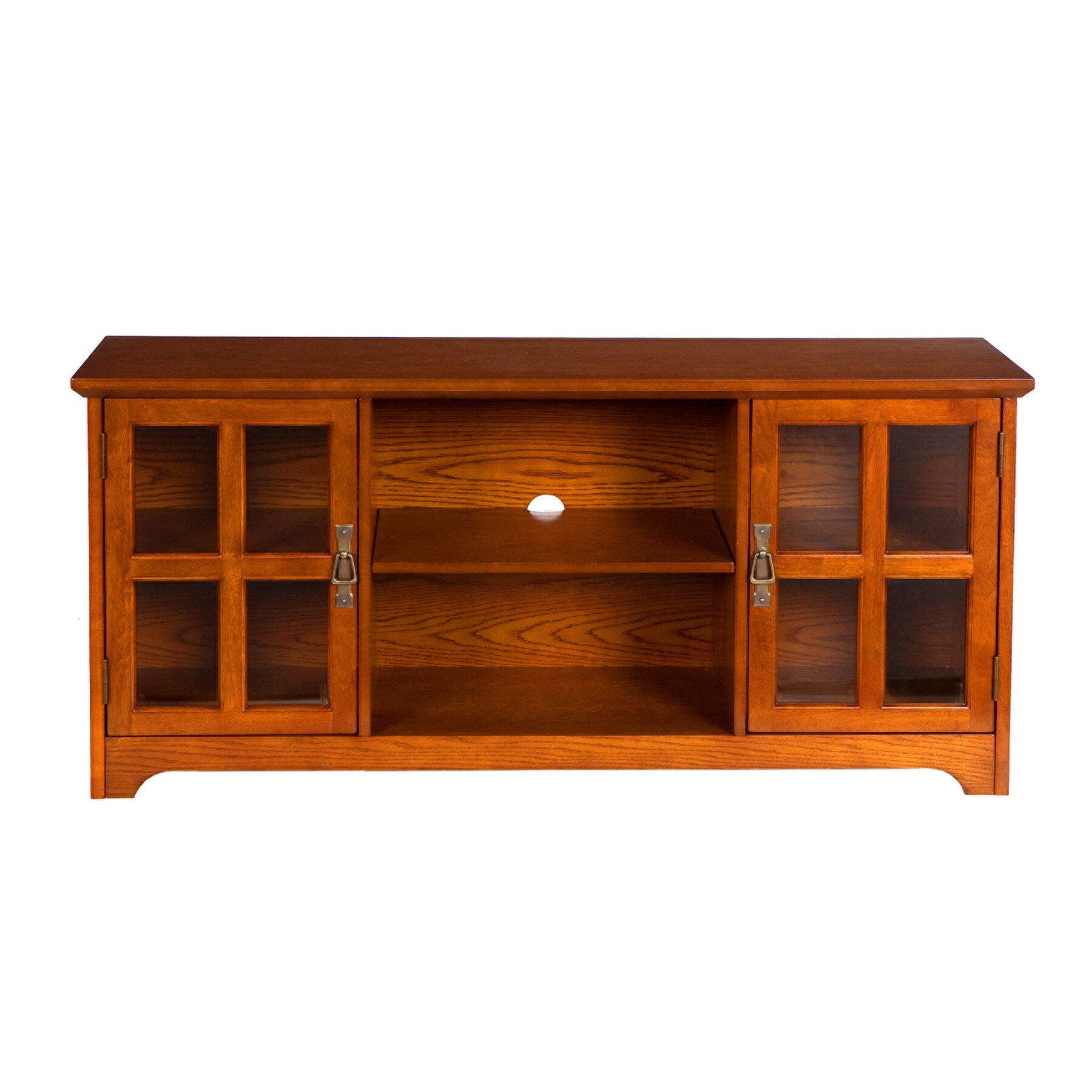 Woodhaven Hill Zander TV Stand & Reviews