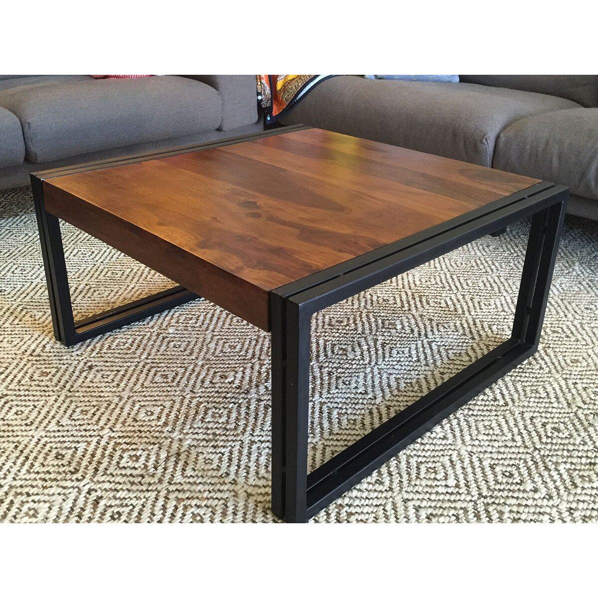 Square Wood Coffee Table: Timbergirl Coffee Table & Reviews