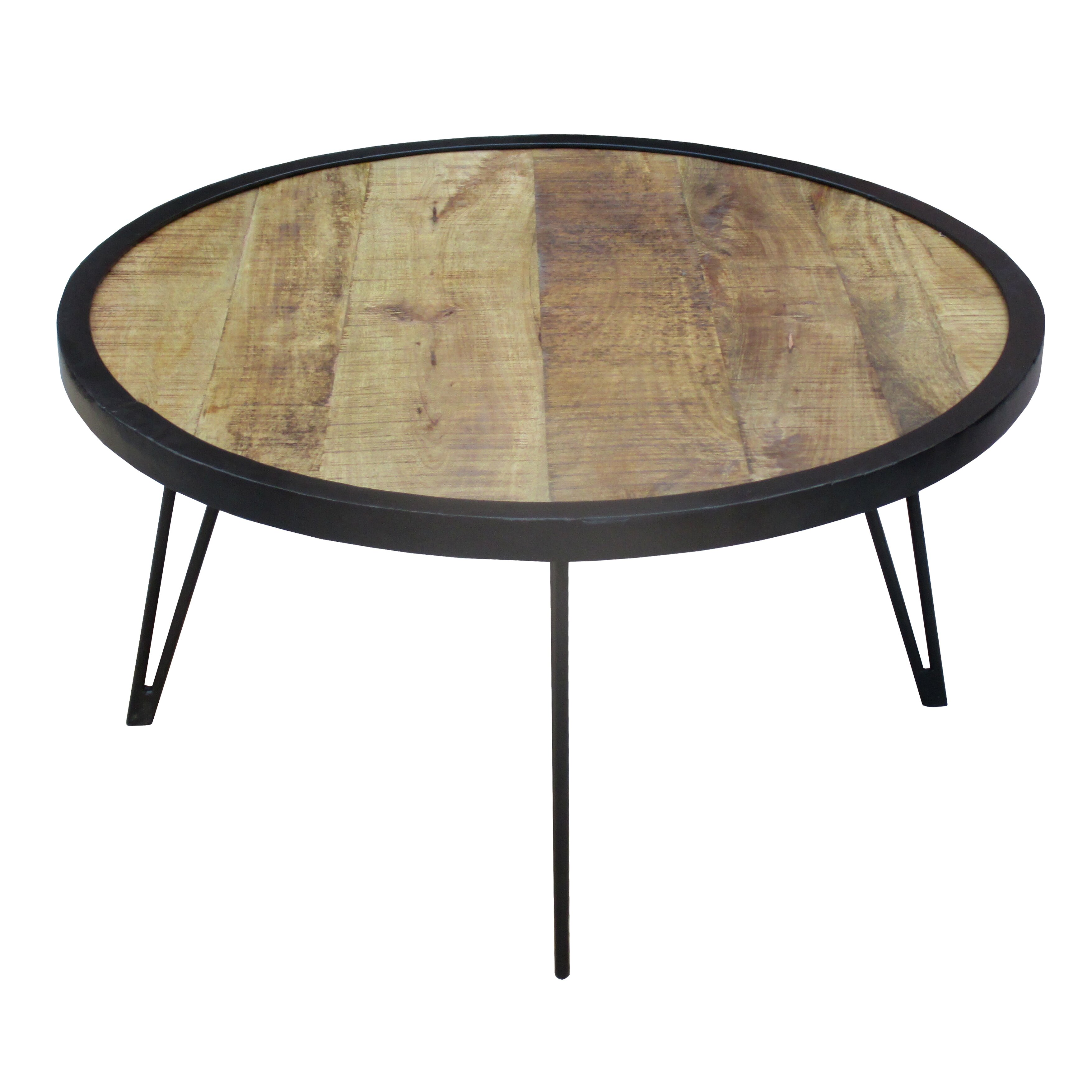 Reclaimed Wood Coffee Table Round: Timbergirl Coffee Table & Reviews
