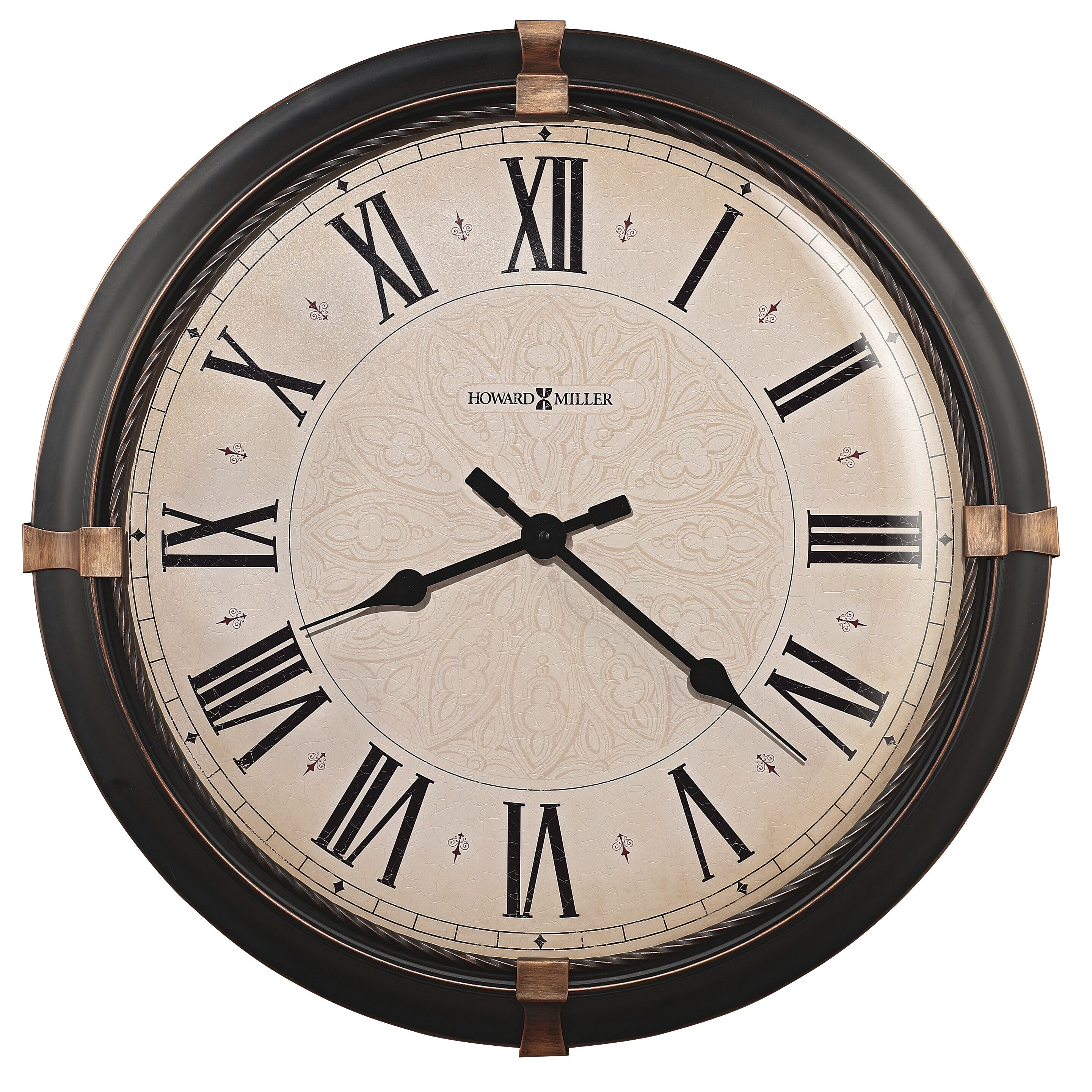 "Howard Miller Oversized 24"" Atwater Wall Clock & Reviews ..."