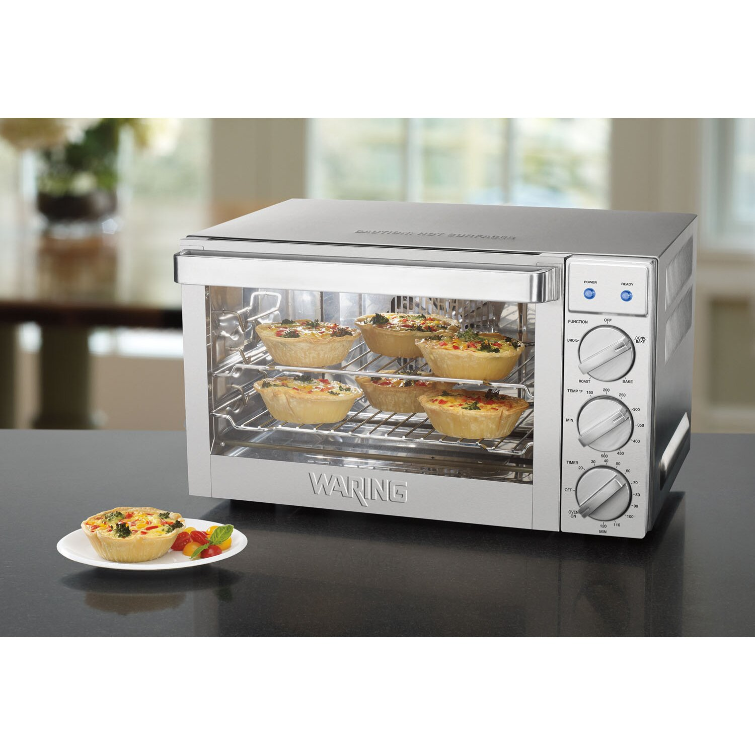 Commercial Countertop Pizza Oven Reviews : ... Cubic Foot Commercial Countertop Convection Oven & Reviews Wayfair