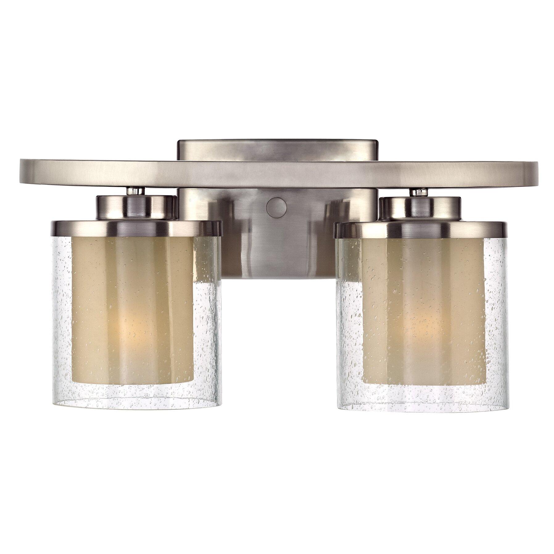 Bathroom Vanity Lights Design Ideas: Dolan Designs Horizon 2 Light Bath Vanity Light & Reviews