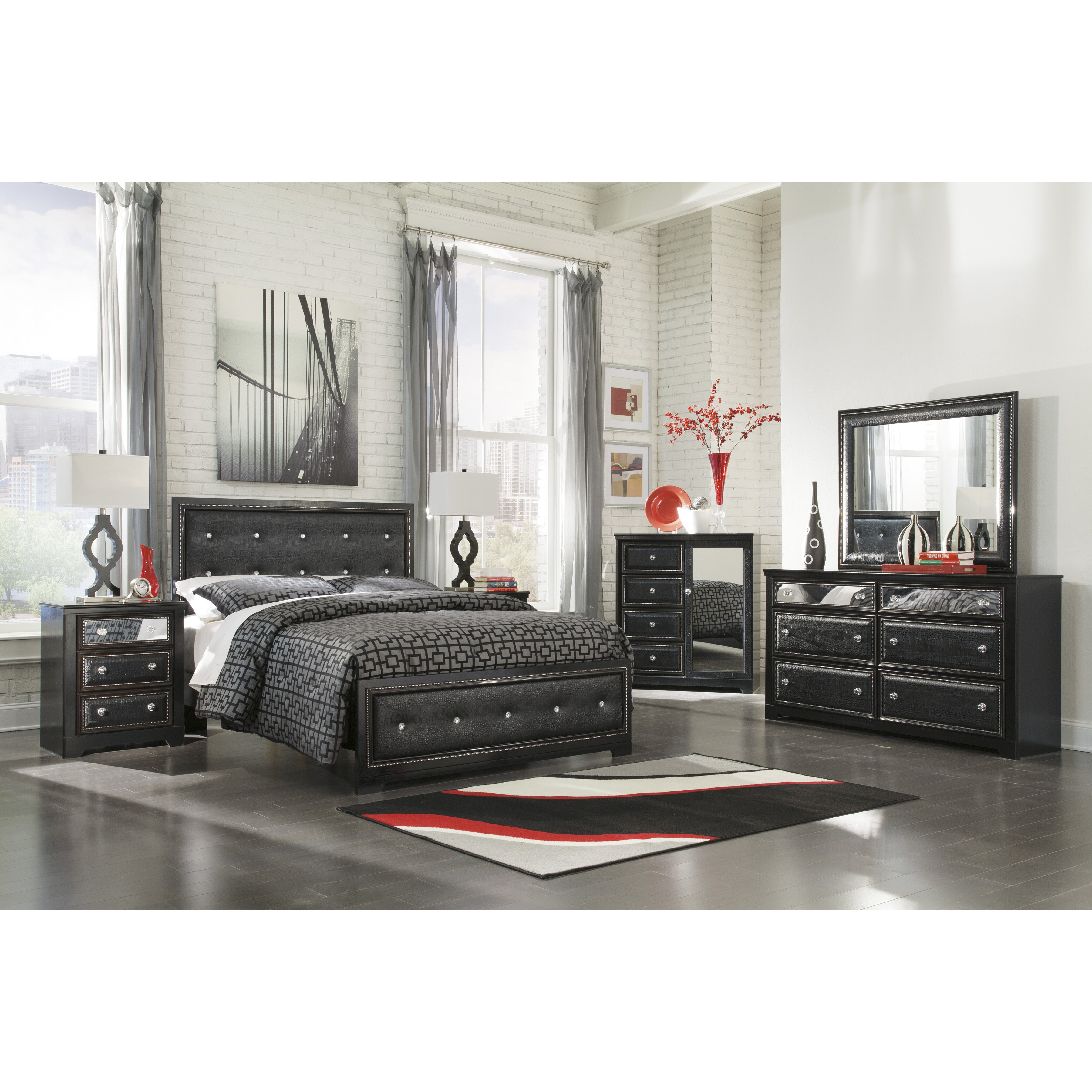 Ashley Furniture Bedroom Furniture: Signature Design By Ashley Alamadyre Panel Customizable