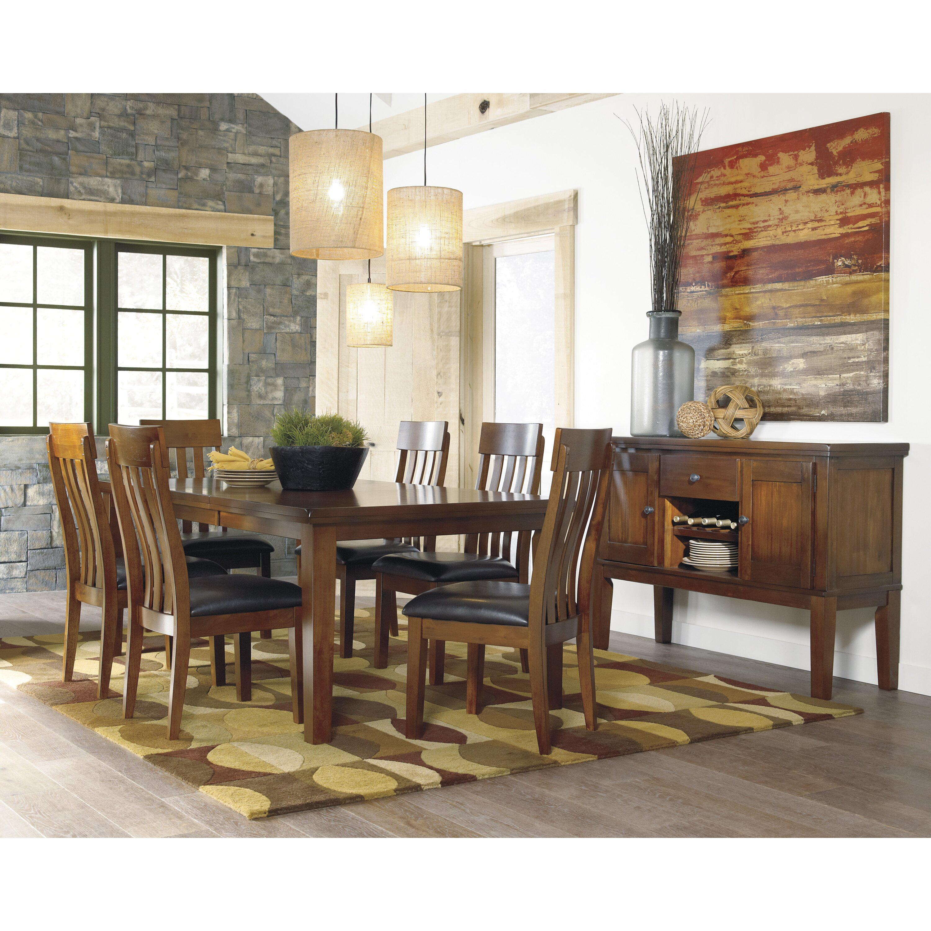 Ashley Dining Table: Signature Design By Ashley Ralene Extendable Dining Table